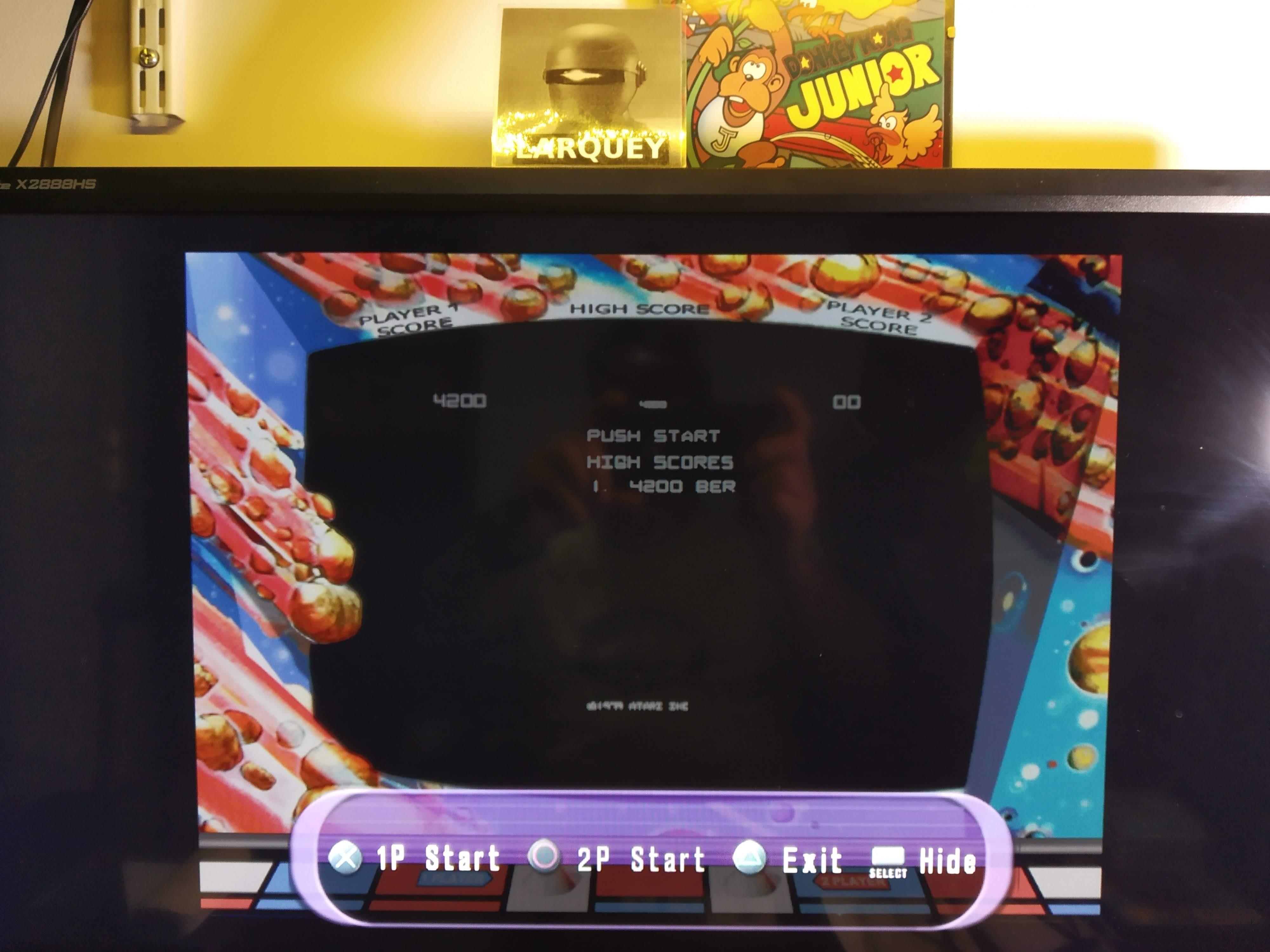 Larquey: Atari Anthology: Asteroids [Arcade Version] (Playstation 2 Emulated) 4,200 points on 2020-08-02 13:32:26