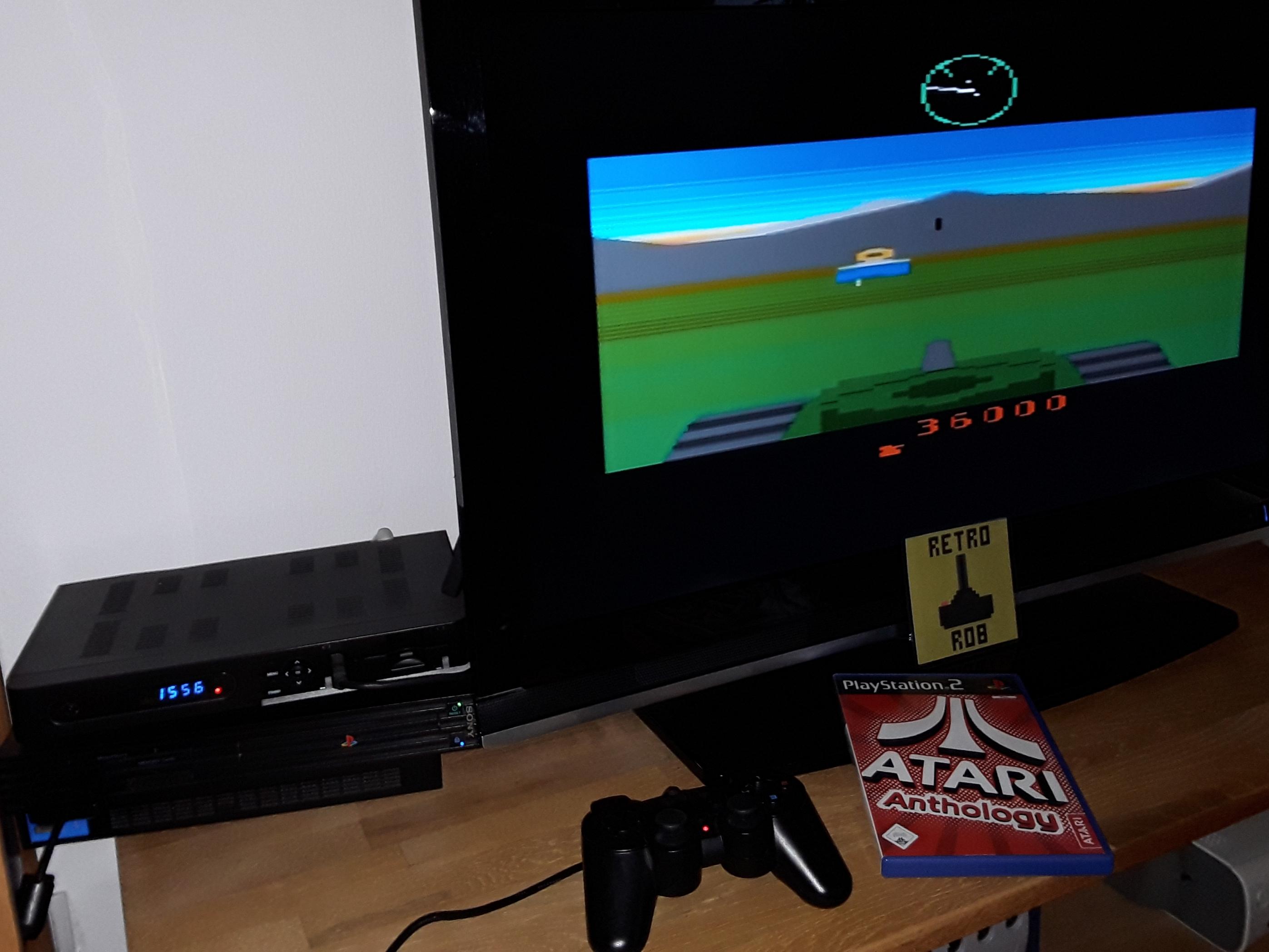 RetroRob: Atari Anthology: Battlezone [2600] (Playstation 2) 36,000 points on 2019-01-13 08:59:36