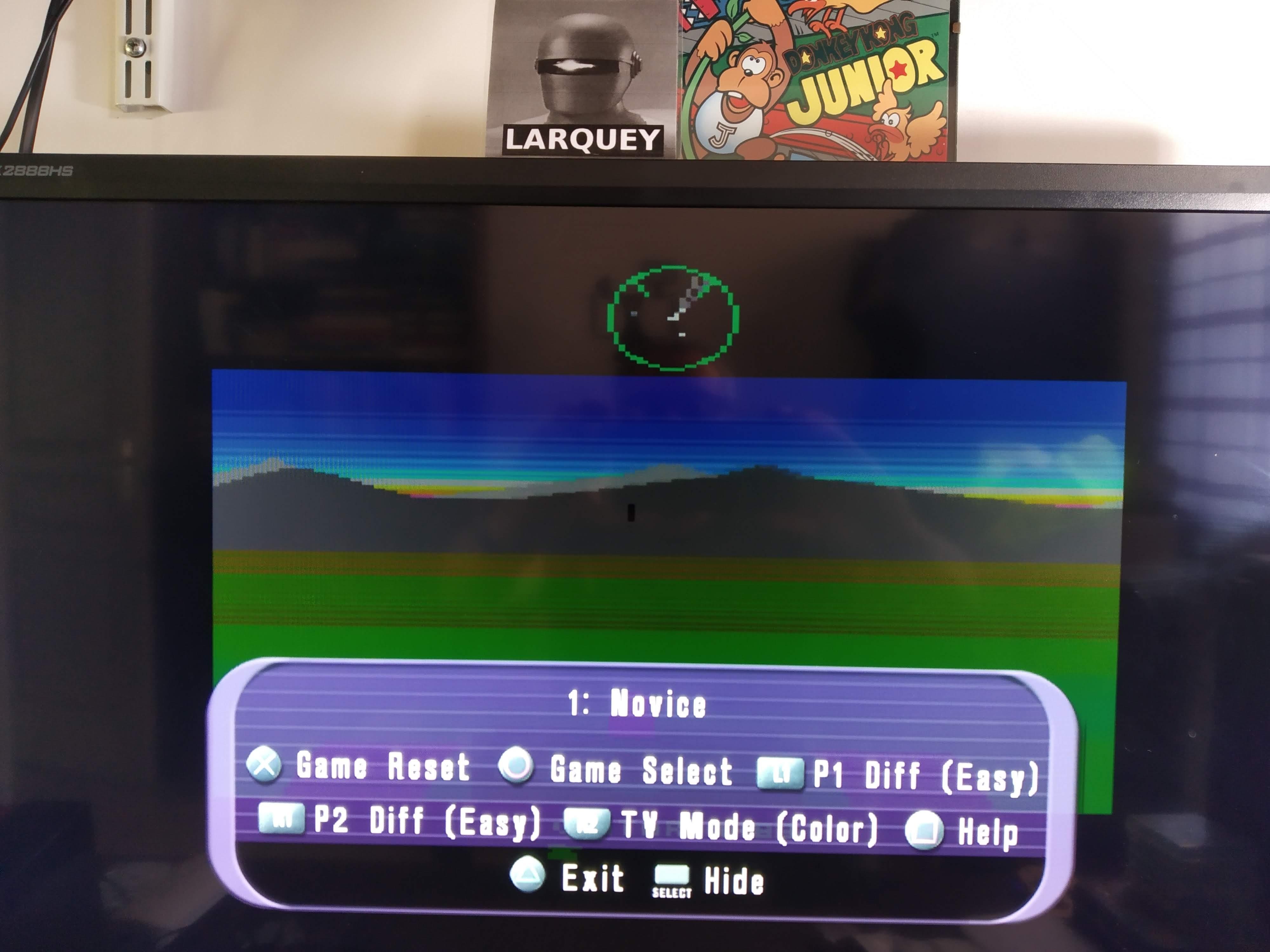 Larquey: Atari Anthology: Battlezone [2600] (Playstation 2 Emulated) 26,000 points on 2020-08-03 17:06:35