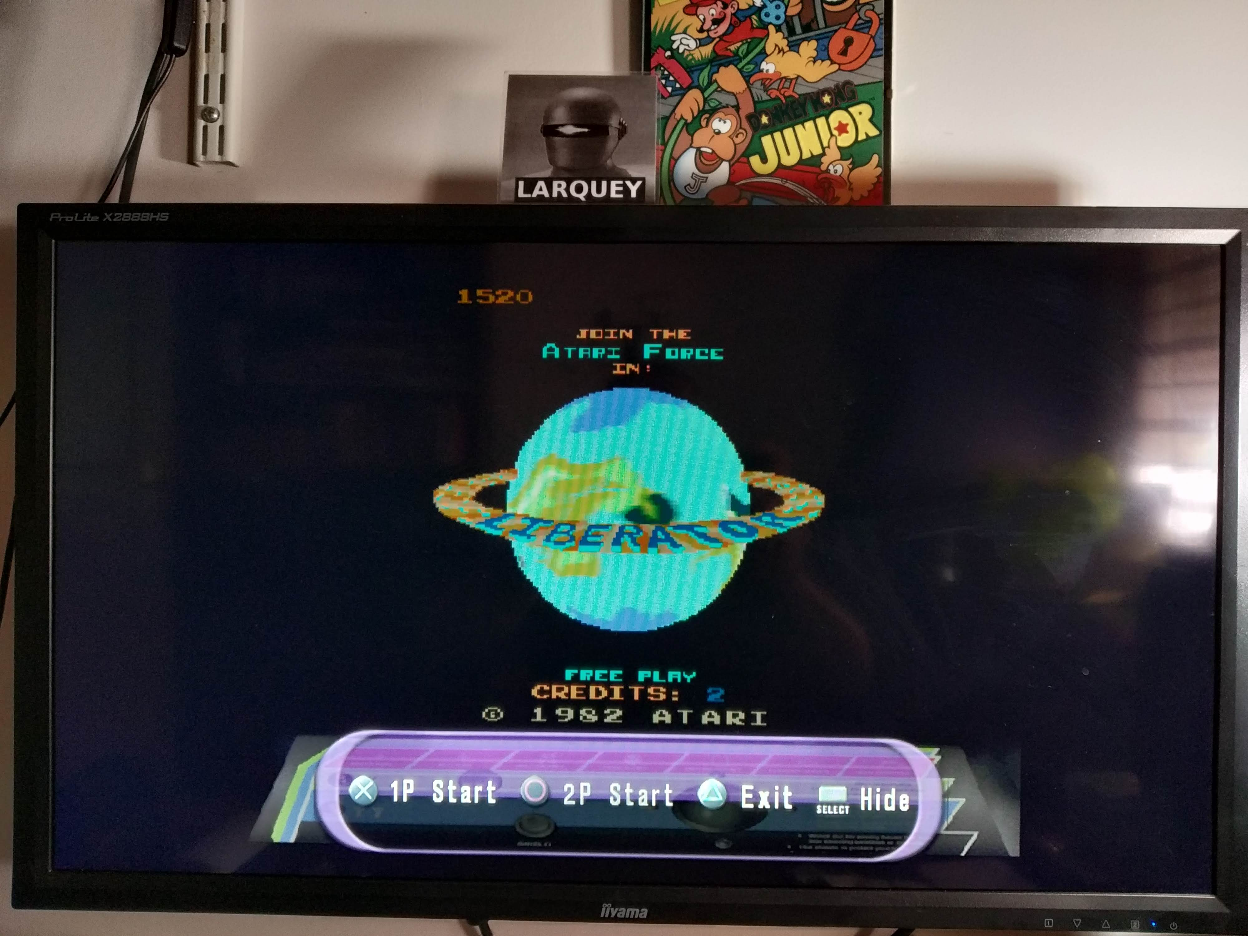 Larquey: Atari Anthology: Liberator (Playstation 2 Emulated) 1,520 points on 2020-08-04 11:54:29