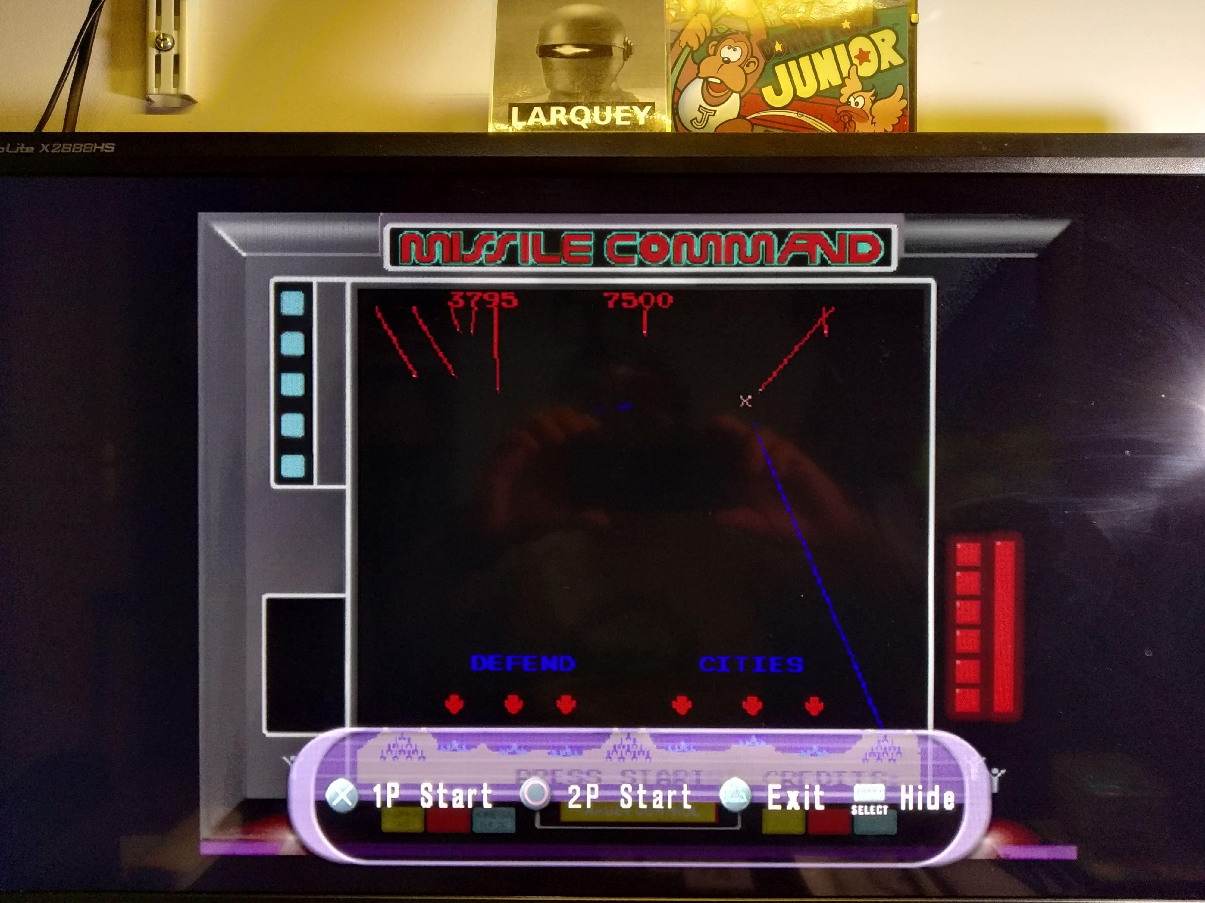 Larquey: Atari Anthology: Missile Command [Arcade Version] (Playstation 2 Emulated) 3,795 points on 2020-08-02 13:35:30