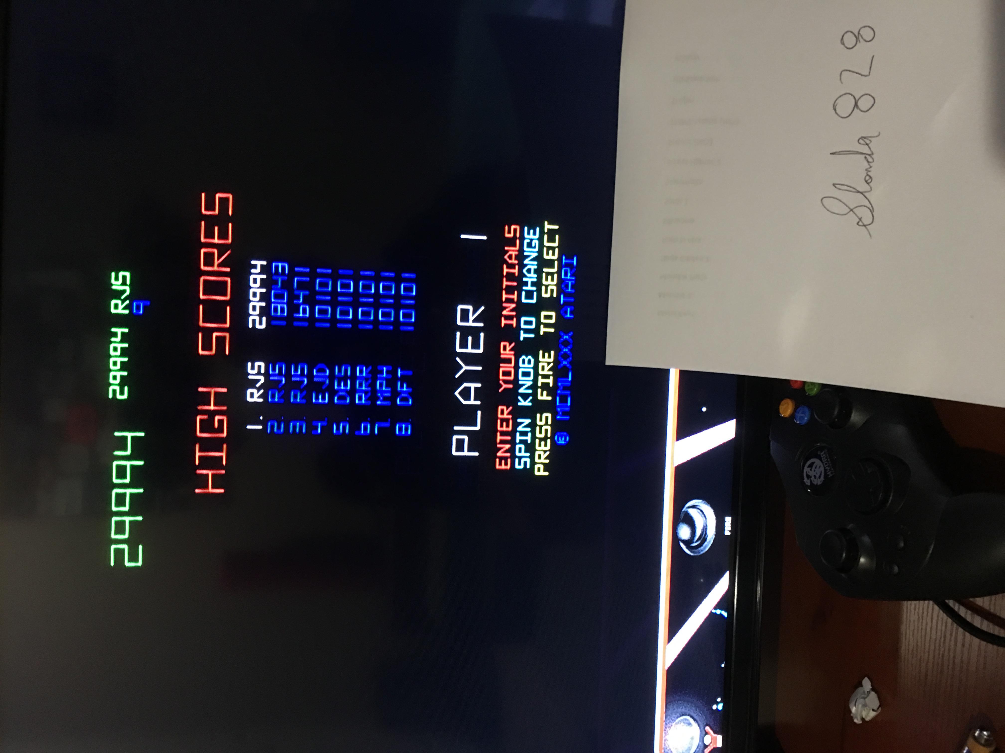 slonda828: Atari Anthology: Tempest (Xbox) 29,994 points on 2017-07-31 19:56:26