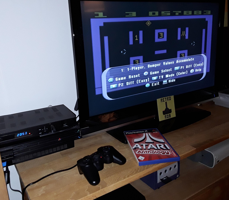 RetroRob: Atari Anthology: Video Pinball (Playstation 2) 57,883 points on 2019-01-28 13:55:57
