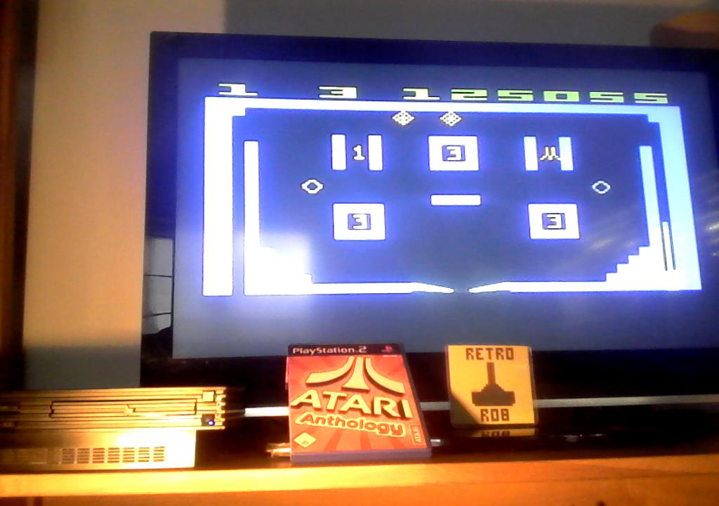 RetroRob: Atari Anthology: Video Pinball (Playstation 2) 125,055 points on 2019-10-10 12:06:27
