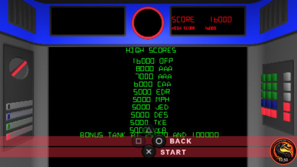 omargeddon: Atari Classics Evolved: Battlezone [Classic] (PSP Emulated) 16,000 points on 2020-10-20 21:29:19