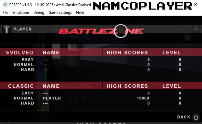 Atari Classics Evolved: Battlezone [Classic] 10,000 points