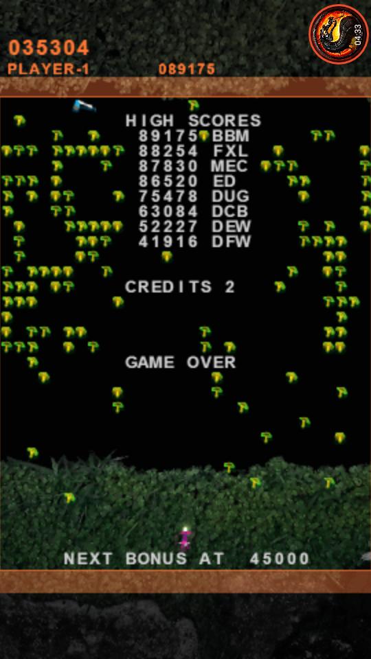 omargeddon: Atari Classics Evolved: Millipede [Evolved] (PSP Emulated) 35,304 points on 2020-10-20 22:00:59