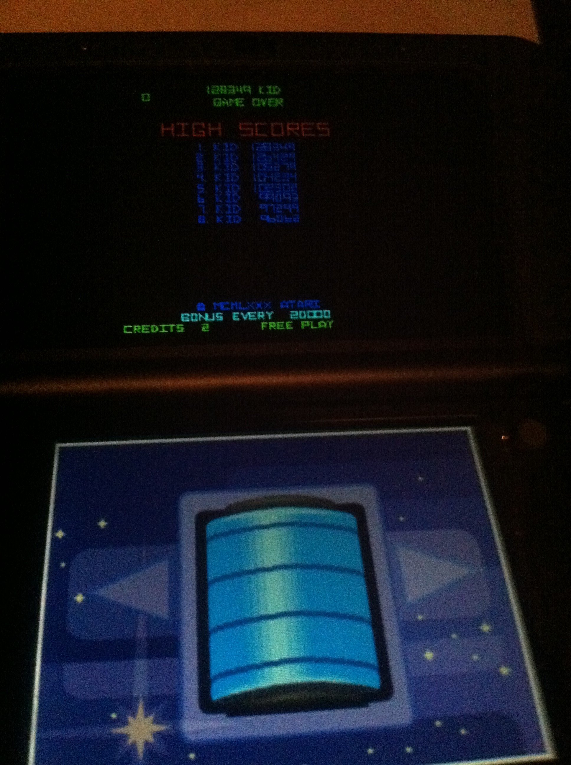 Atari Greatest Hits: Volume 1: Tempest [Arcade/Level 9 or greater Start] 96,062 points