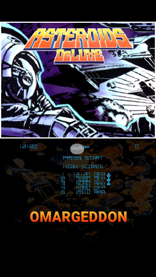 omargeddon: Atari Greatest Hits: Volume 2: Asteroids Deluxe [Arcade] (Nintendo DS Emulated) 12,120 points on 2018-10-07 18:22:01