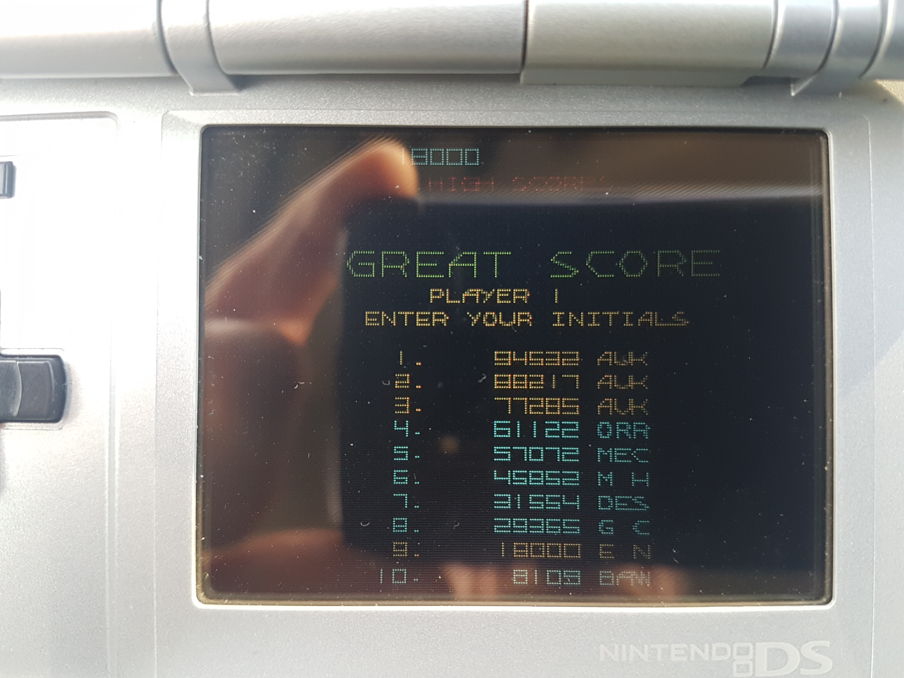 EddieNiceguy: Atari Greatest Hits: Volume 2: Major Havoc [Arcade] (Nintendo DS) 18,000 points on 2018-12-07 05:57:07