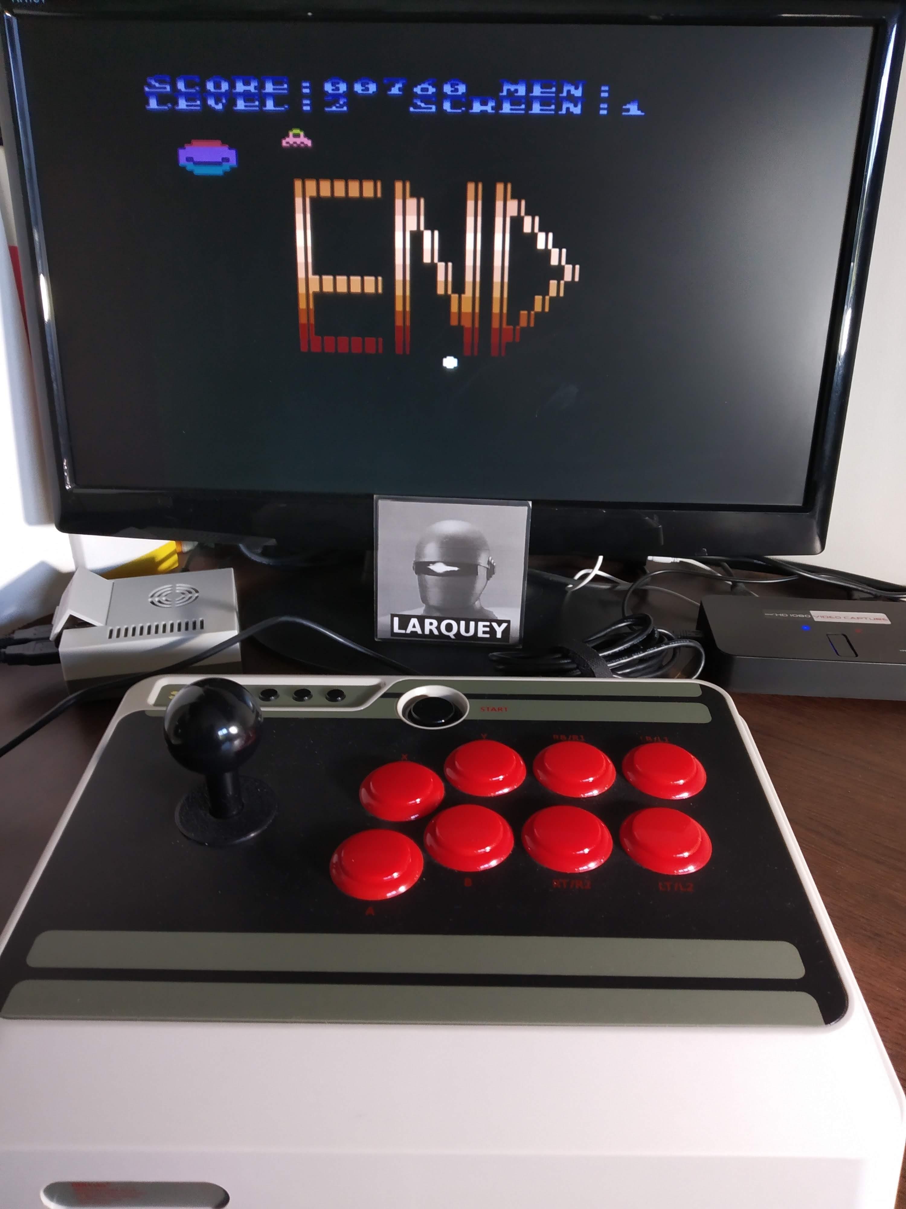 Larquey: Ataroid (Atari 400/800/XL/XE Emulated) 760 points on 2019-11-24 12:52:54