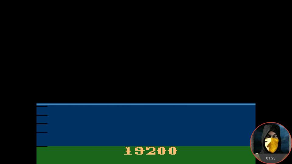 omargeddon: Atlantis (Atari 2600 Emulated) 19,200 points on 2018-02-18 23:36:25