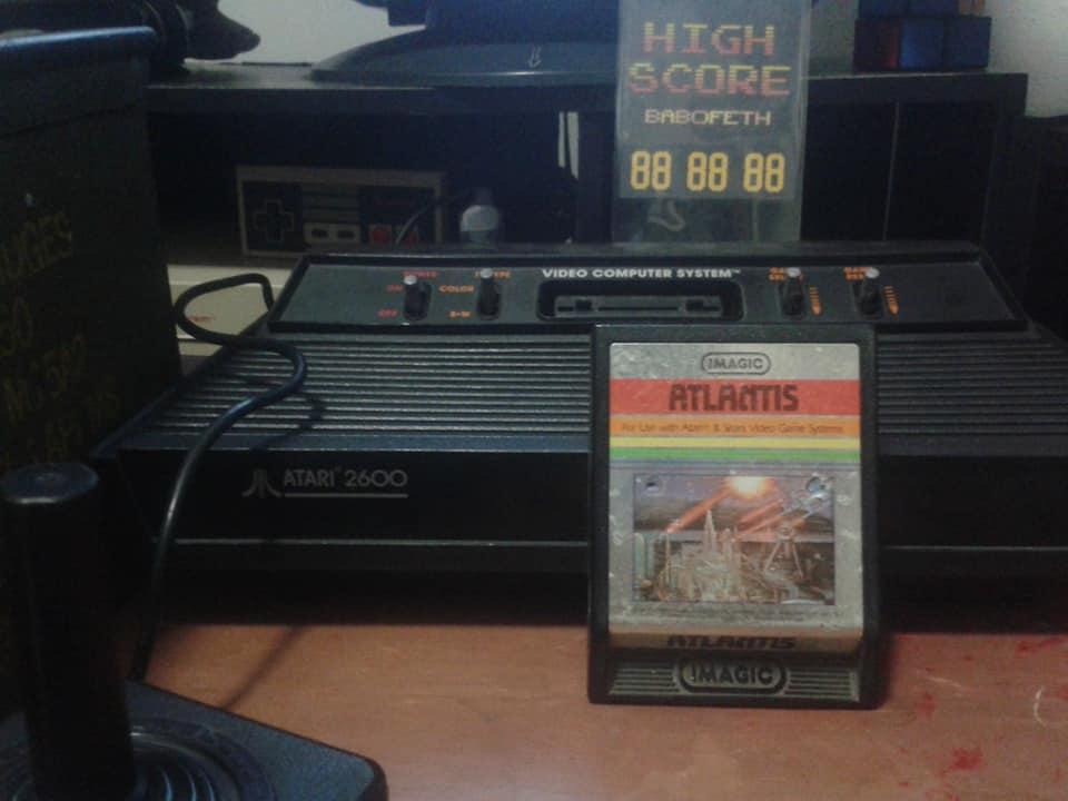 BabofetH: Atlantis (Atari 2600) 59,200 points on 2020-06-16 17:36:33
