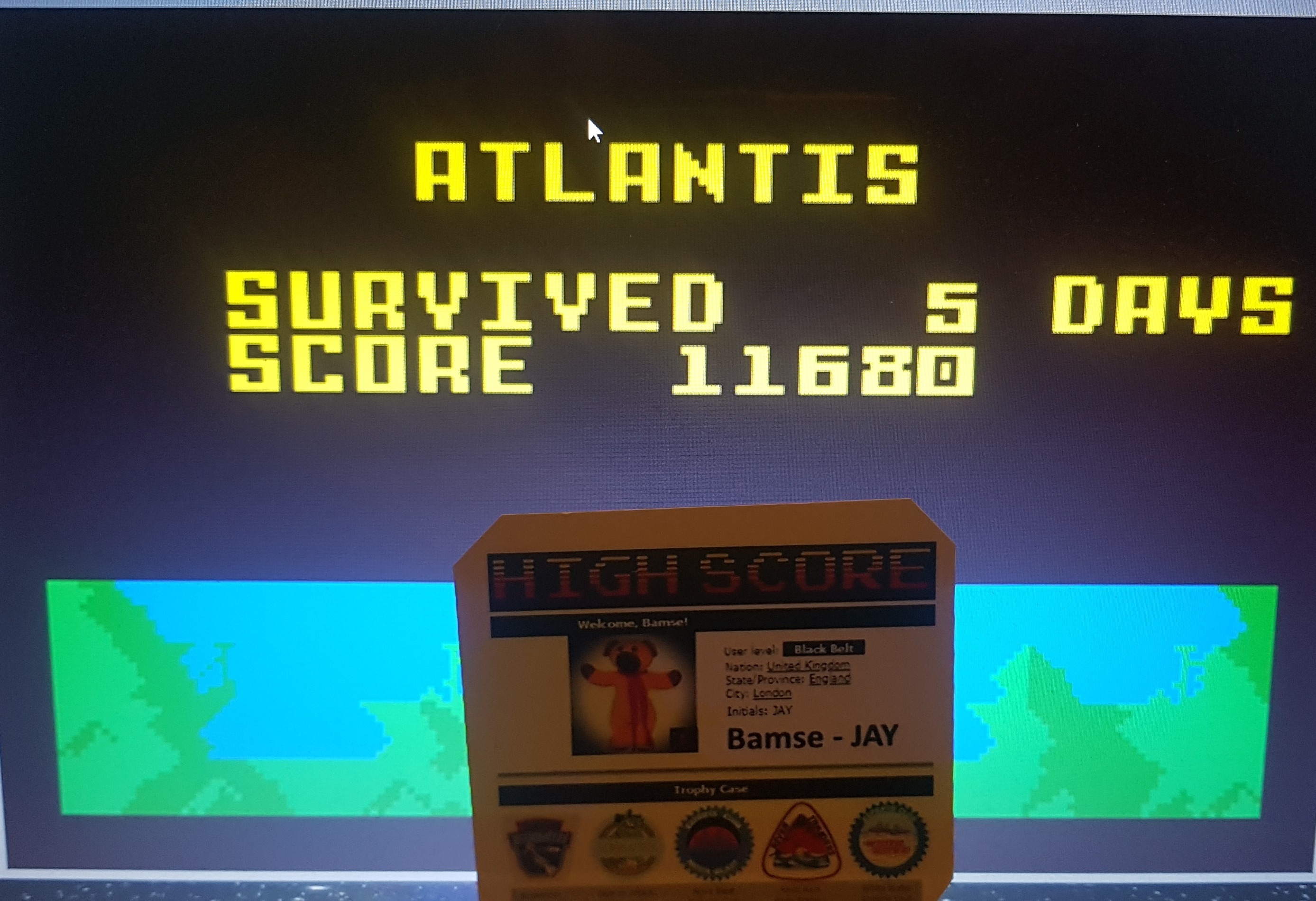 Bamse: Atlantis: Easy (Intellivision Emulated) 11,680 points on 2019-08-14 16:38:10