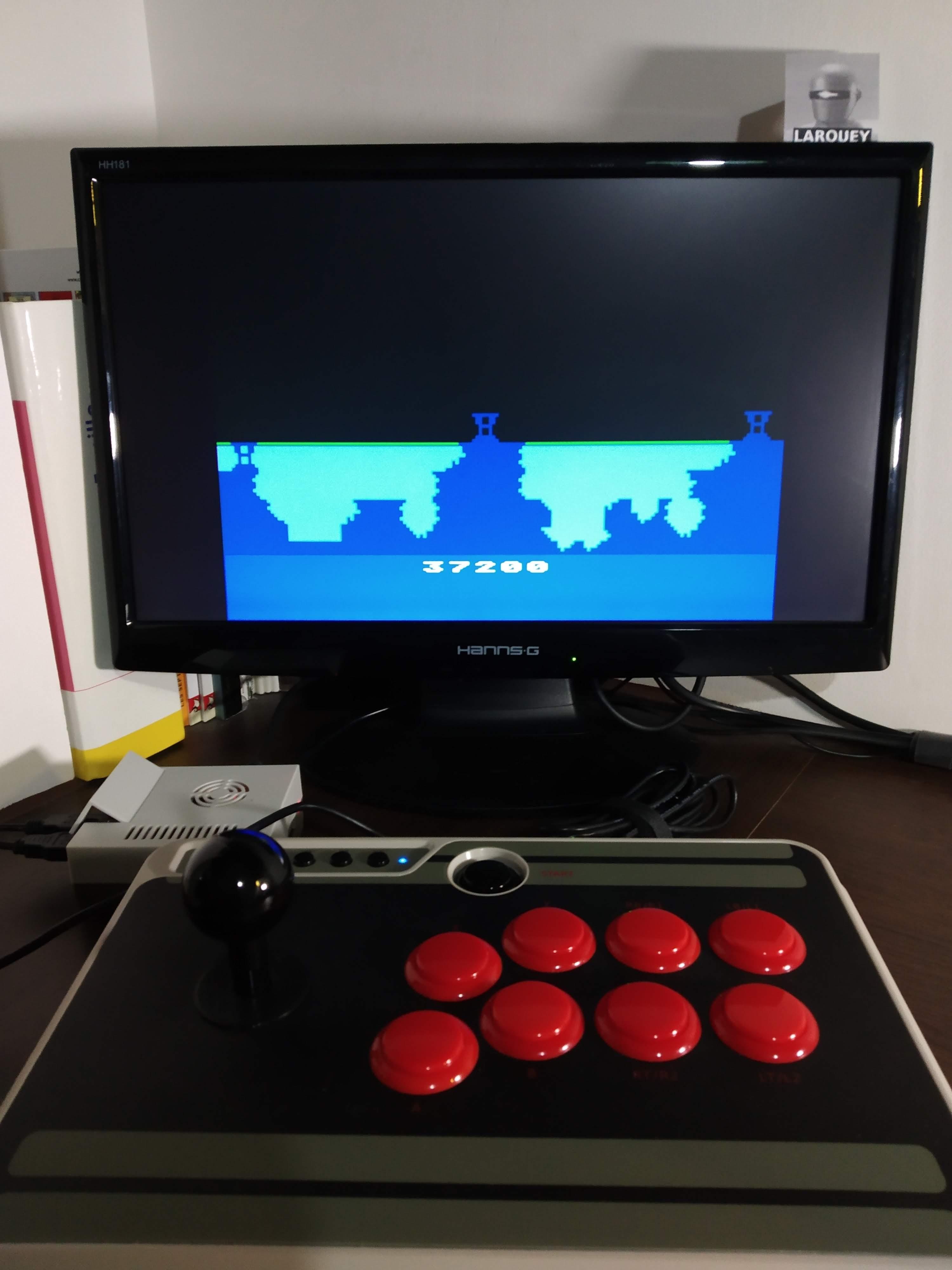 Larquey: Atlantis [Hard] (Atari 400/800/XL/XE Emulated) 37,200 points on 2019-11-30 13:19:54