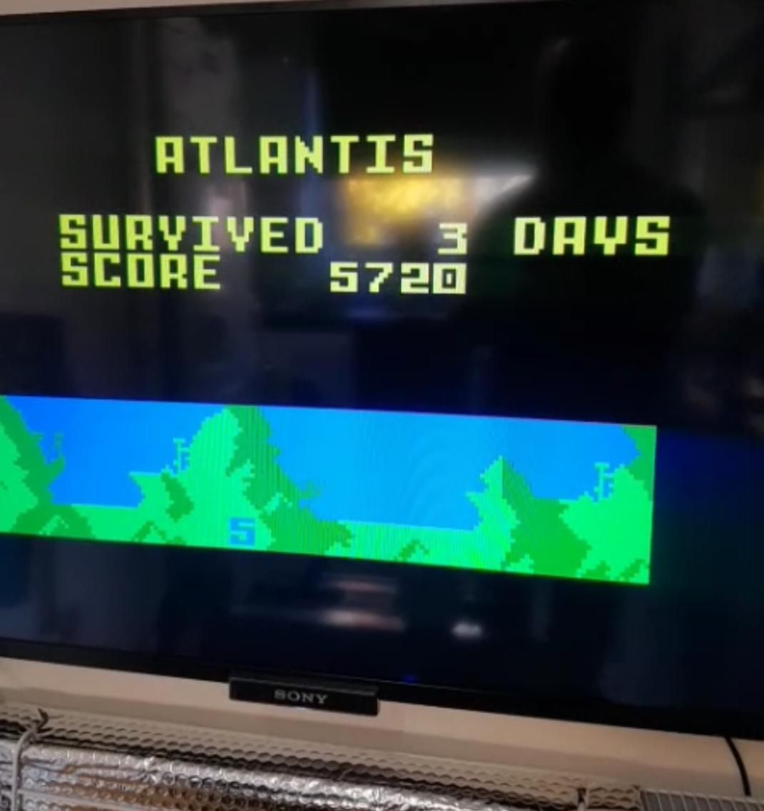 Bamse: Atlantis: Hard (Intellivision) 5,720 points on 2018-11-11 09:35:52