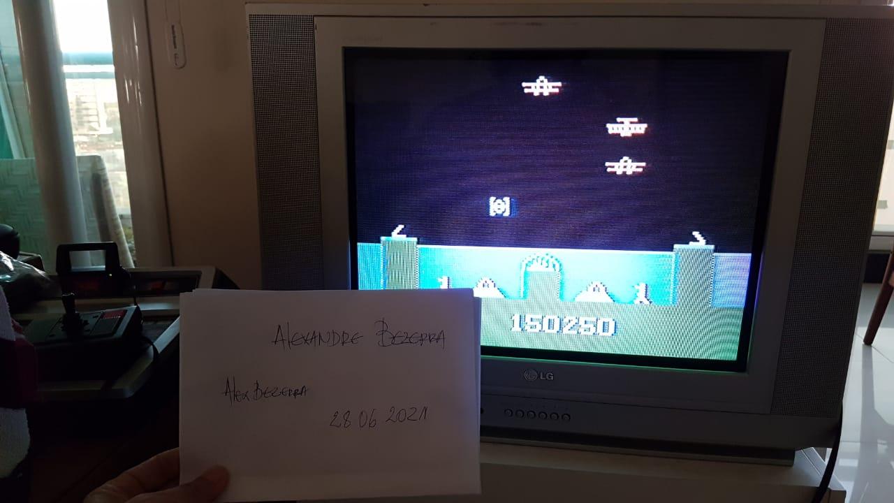 AlexBezerra: Atlantis (Odyssey 2 / Videopac) 150,250 points on 2021-06-26 14:40:30