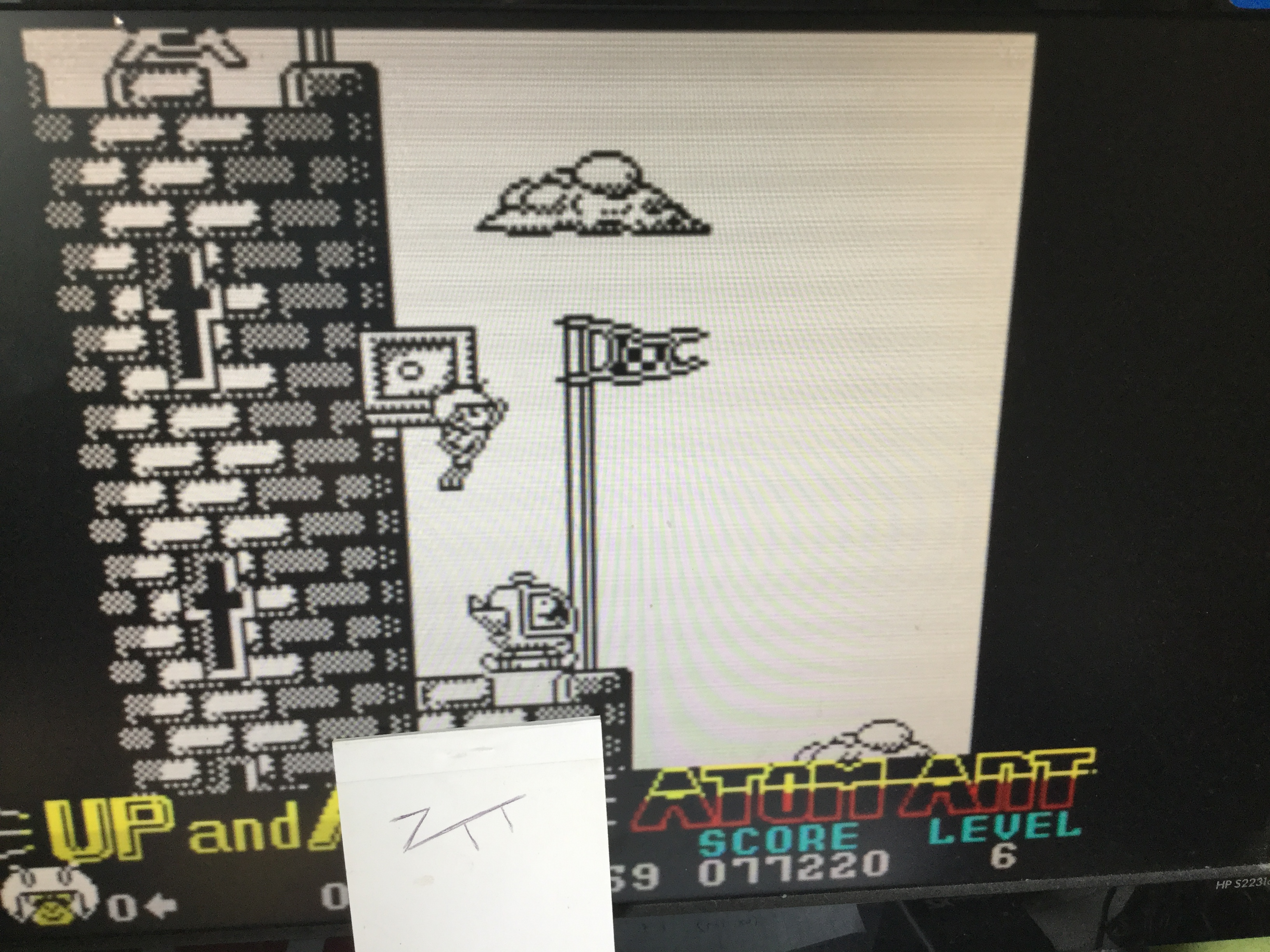 Frankie: Atom Ant (ZX Spectrum Emulated) 77,220 points on 2017-08-11 07:38:31
