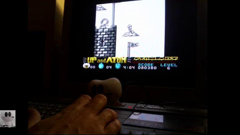 GTibel: Atom Ant (ZX Spectrum) 80,380 points on 2017-12-02 14:20:45