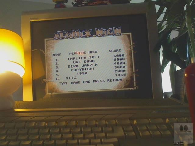 GTibel: Atomix [Easy] (Atari ST) 1,865 points on 2019-11-28 00:12:02