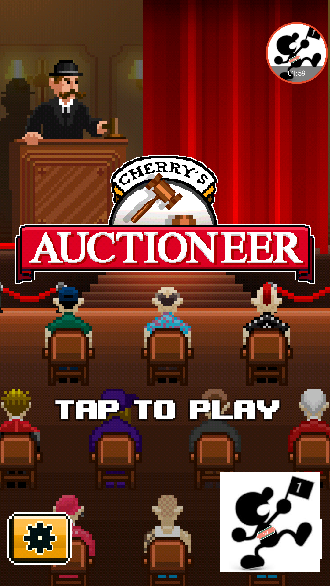 Auctioneer 67 points