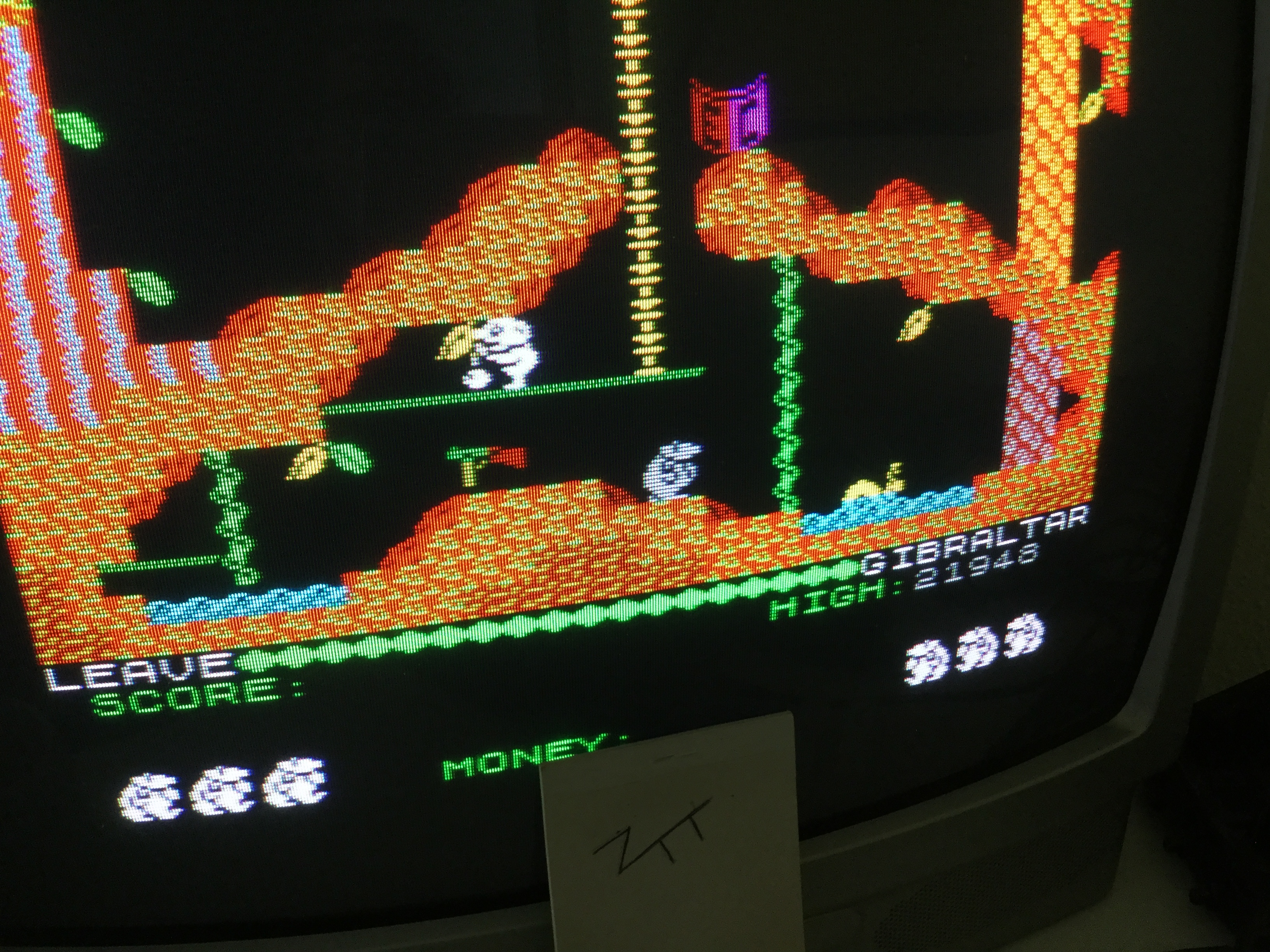 Frankie: Auf Wiedersehen Monty (ZX Spectrum) 21,948 points on 2019-07-15 15:40:45