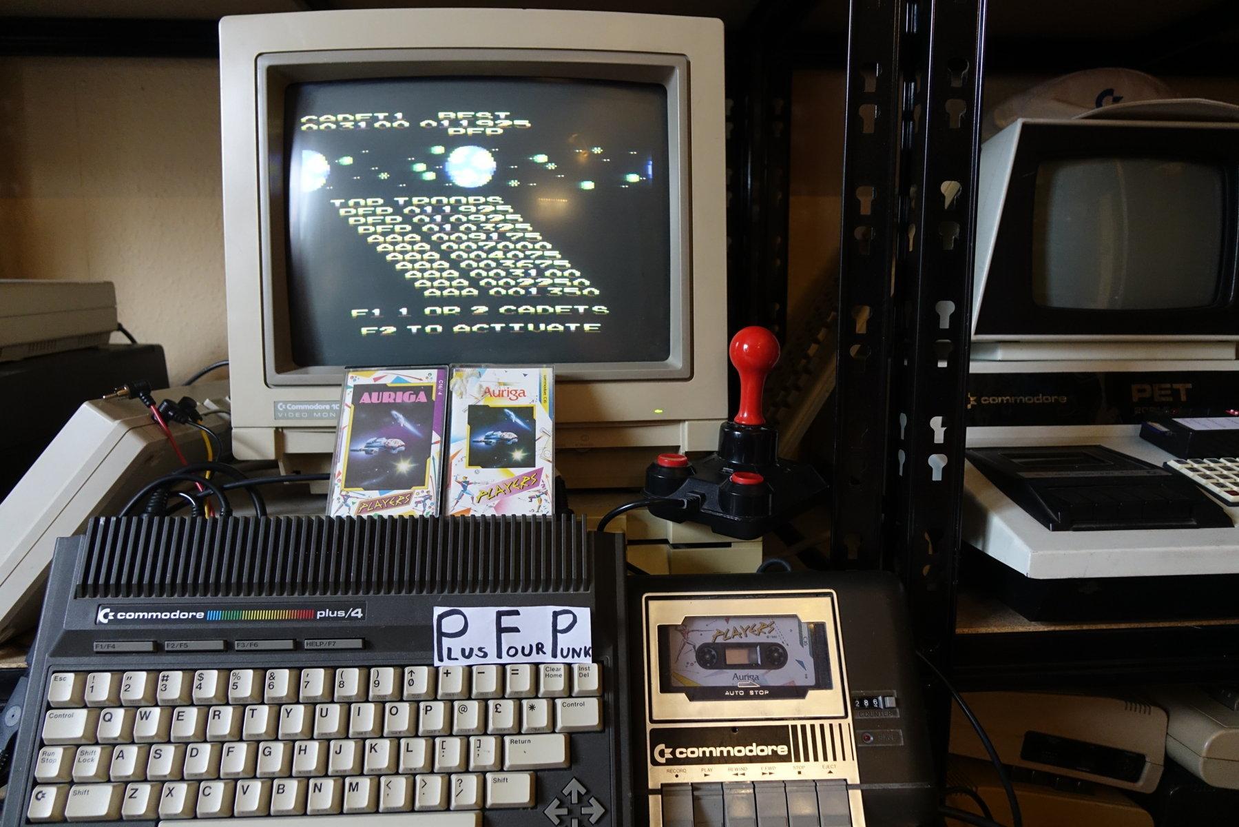 plus4punk: Auriga (Commodore 16/Plus4) 11,925 points on 2020-03-11 08:37:57