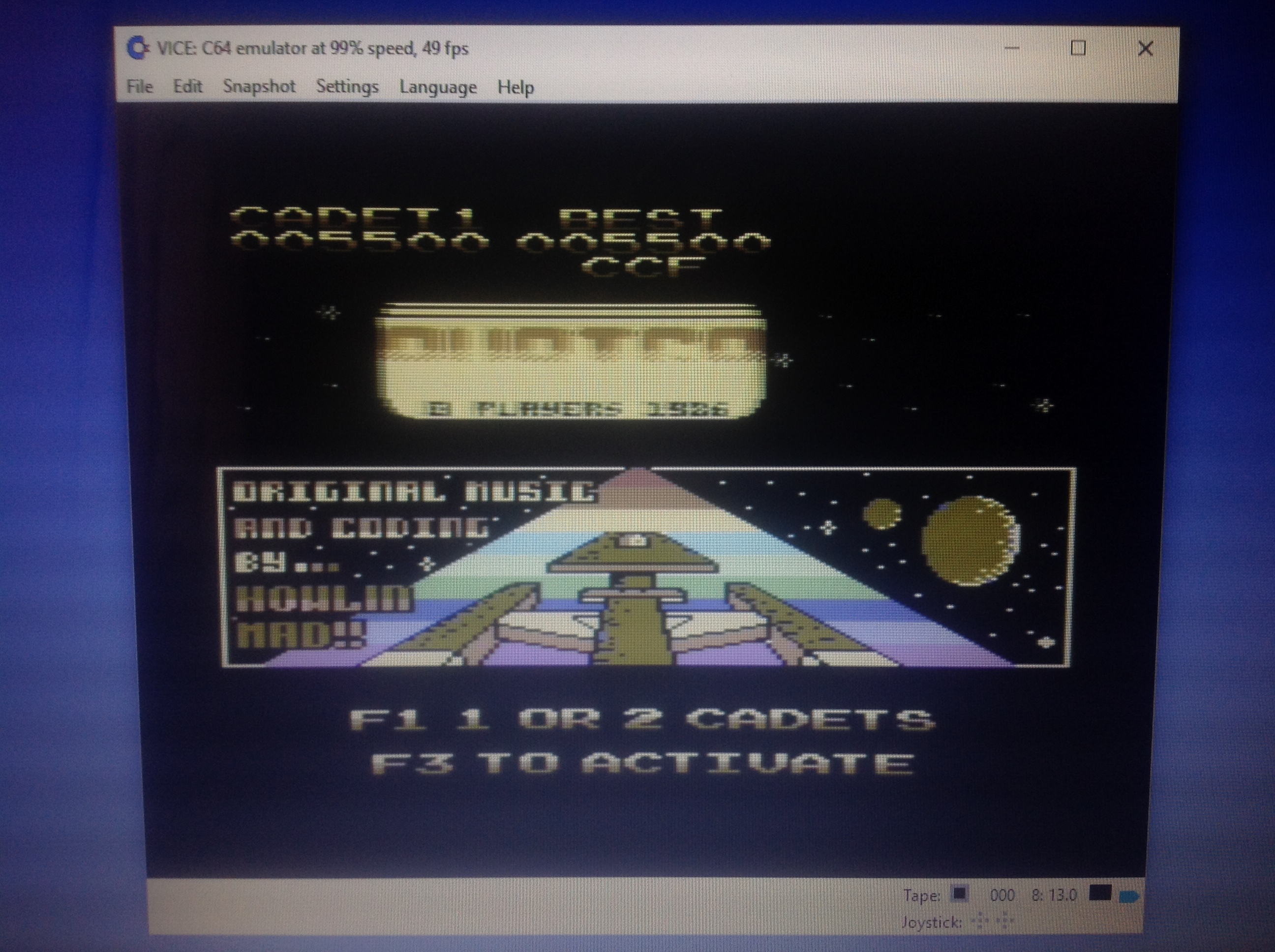 CoCoForest: Auriga (Commodore 64 Emulated) 5,500 points on 2018-01-13 05:36:45