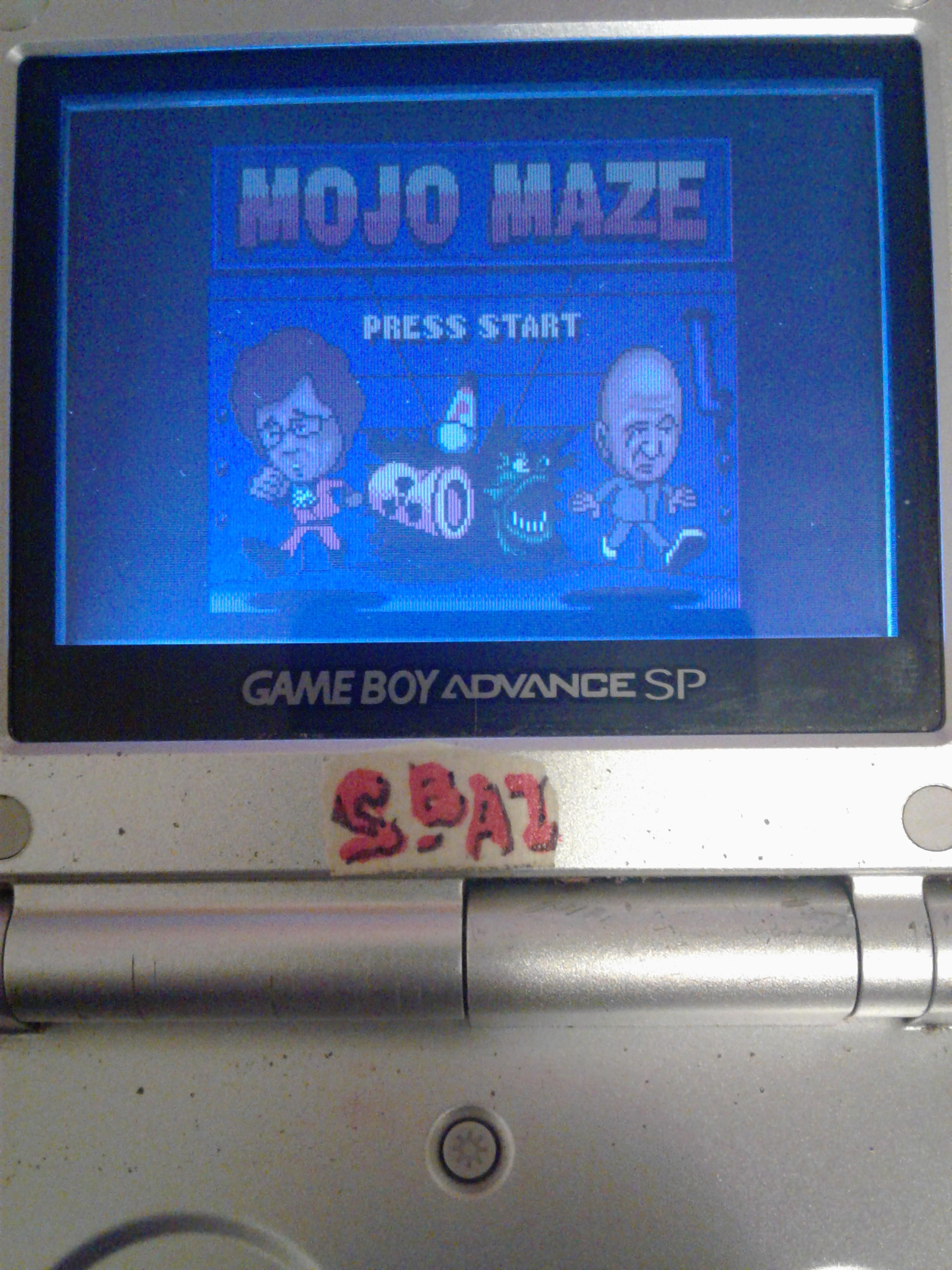 S.BAZ: Austin Powers Oh, Behave!: Mojo Maze [Easy] (Game Boy Color) 2,520 points on 2019-07-25 12:46:13