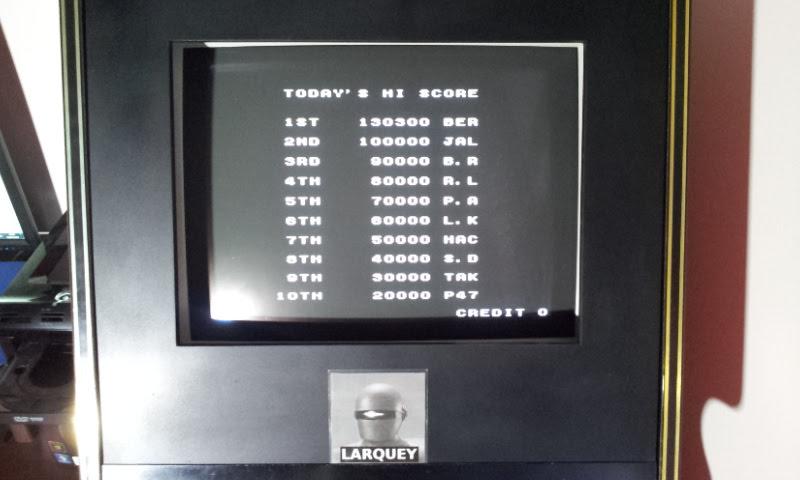 Larquey: Avenging Spirit (Arcade Emulated / M.A.M.E.) 130,300 points on 2018-04-26 12:42:38