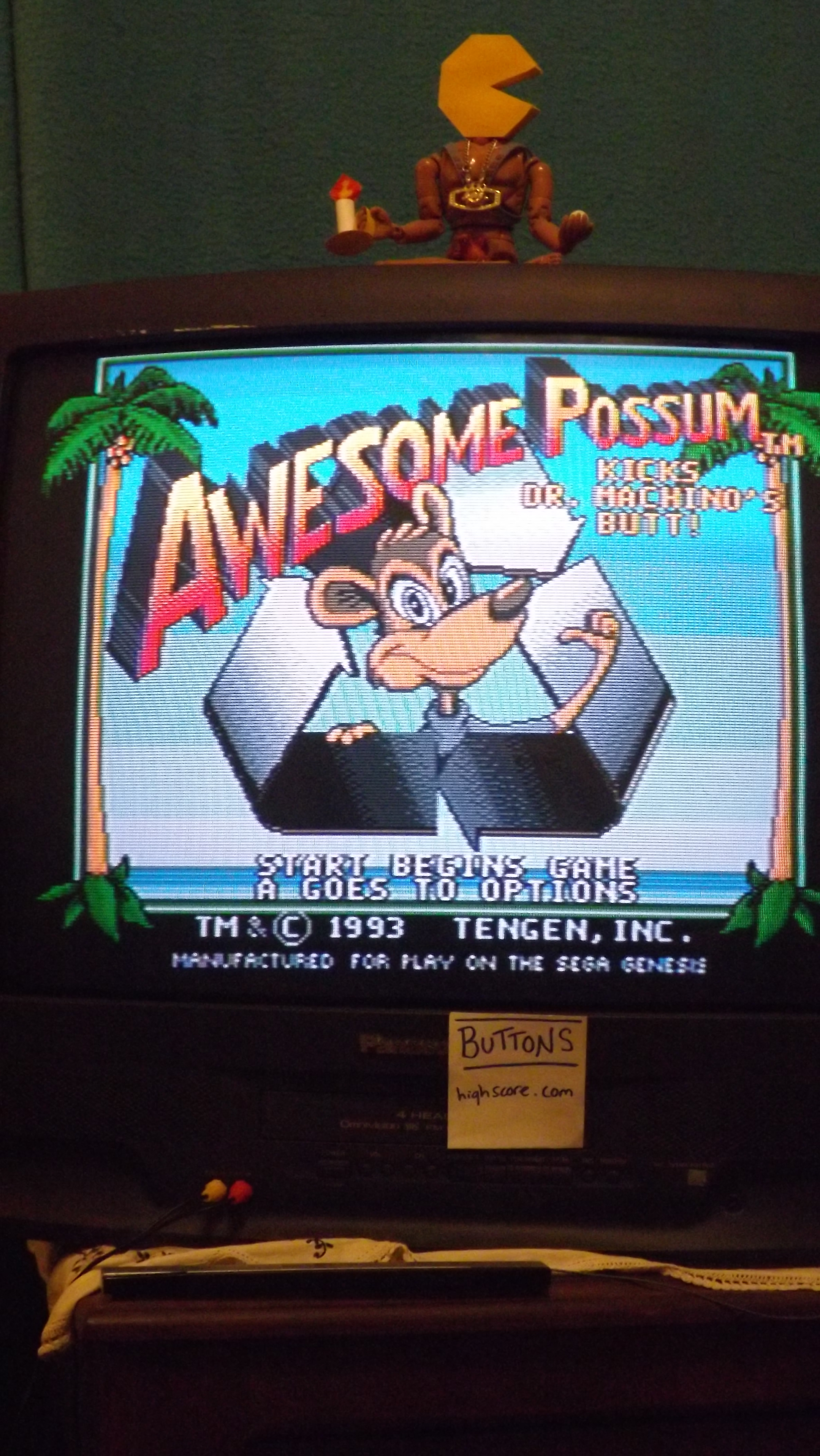 Buttons: Awesome Possum (Sega Genesis / MegaDrive) 70,690 points on 2017-05-20 20:06:41