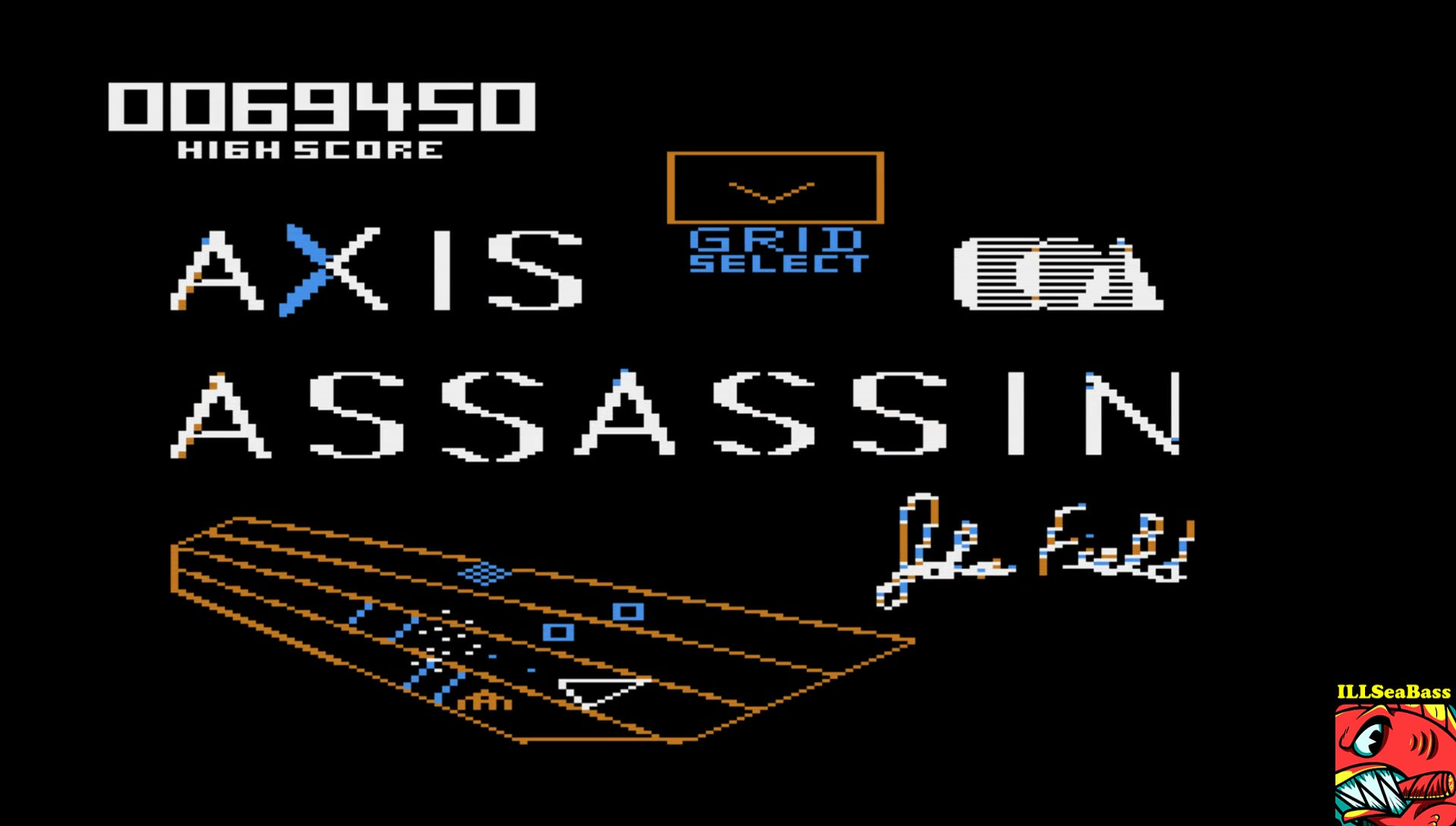 ILLSeaBass: Axis Assassin: Medium Spider (Atari 400/800/XL/XE Emulated) 69,450 points on 2017-06-11 00:26:19