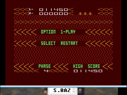 S.BAZ: Aztec Challenge for Atari 400 800 XL XE (Atari 400/800/XL/XE Emulated) 11,450 points on 2016-05-02 17:40:11