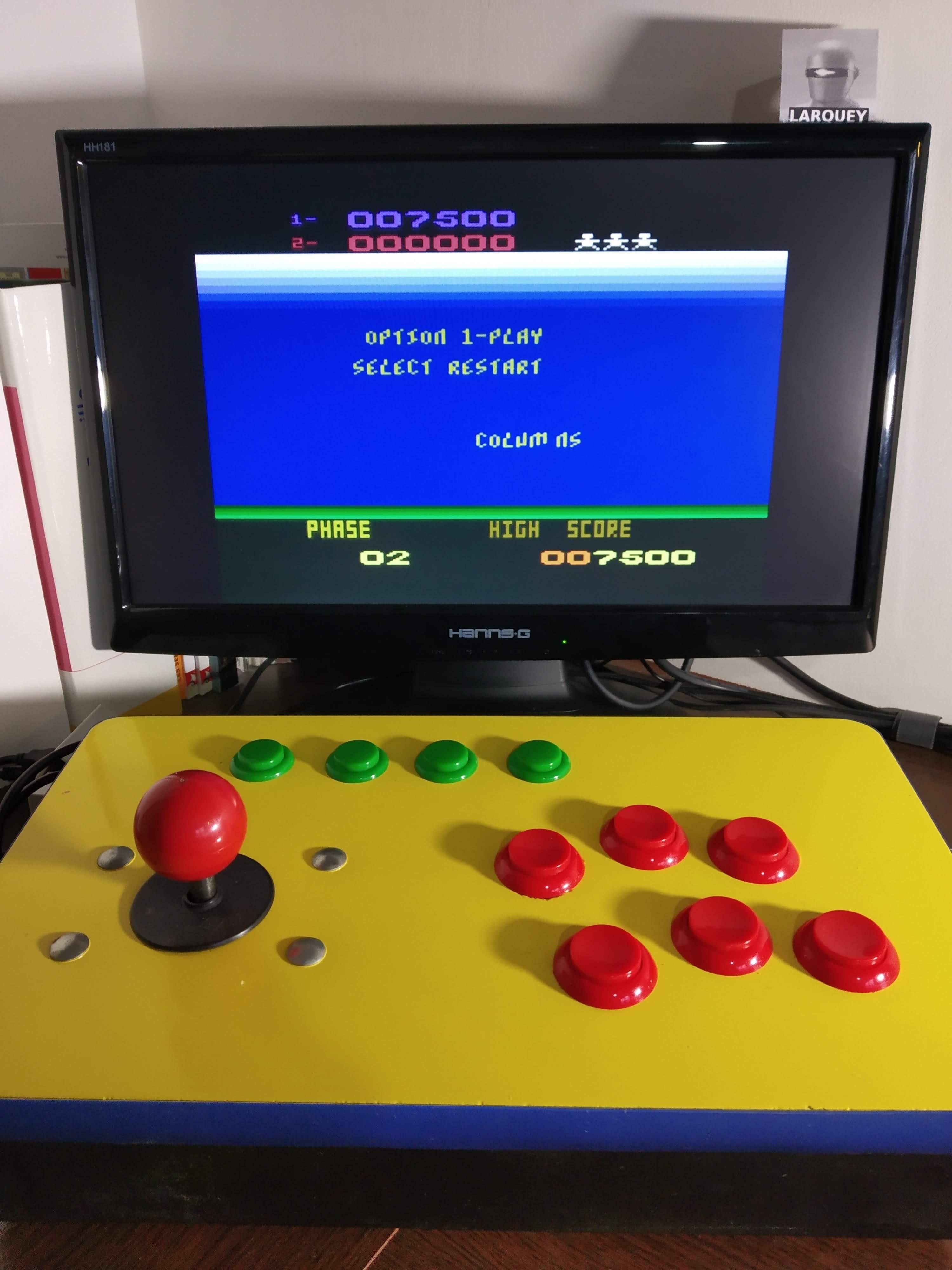 Larquey: Aztec Challenge for Atari 400 800 XL XE (Atari 400/800/XL/XE Emulated) 7,500 points on 2019-12-01 11:56:51