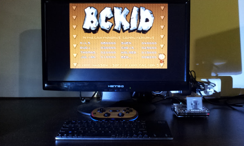 Larquey: B.C. Kid (Amiga Emulated) 9,200 points on 2017-08-27 14:07:46