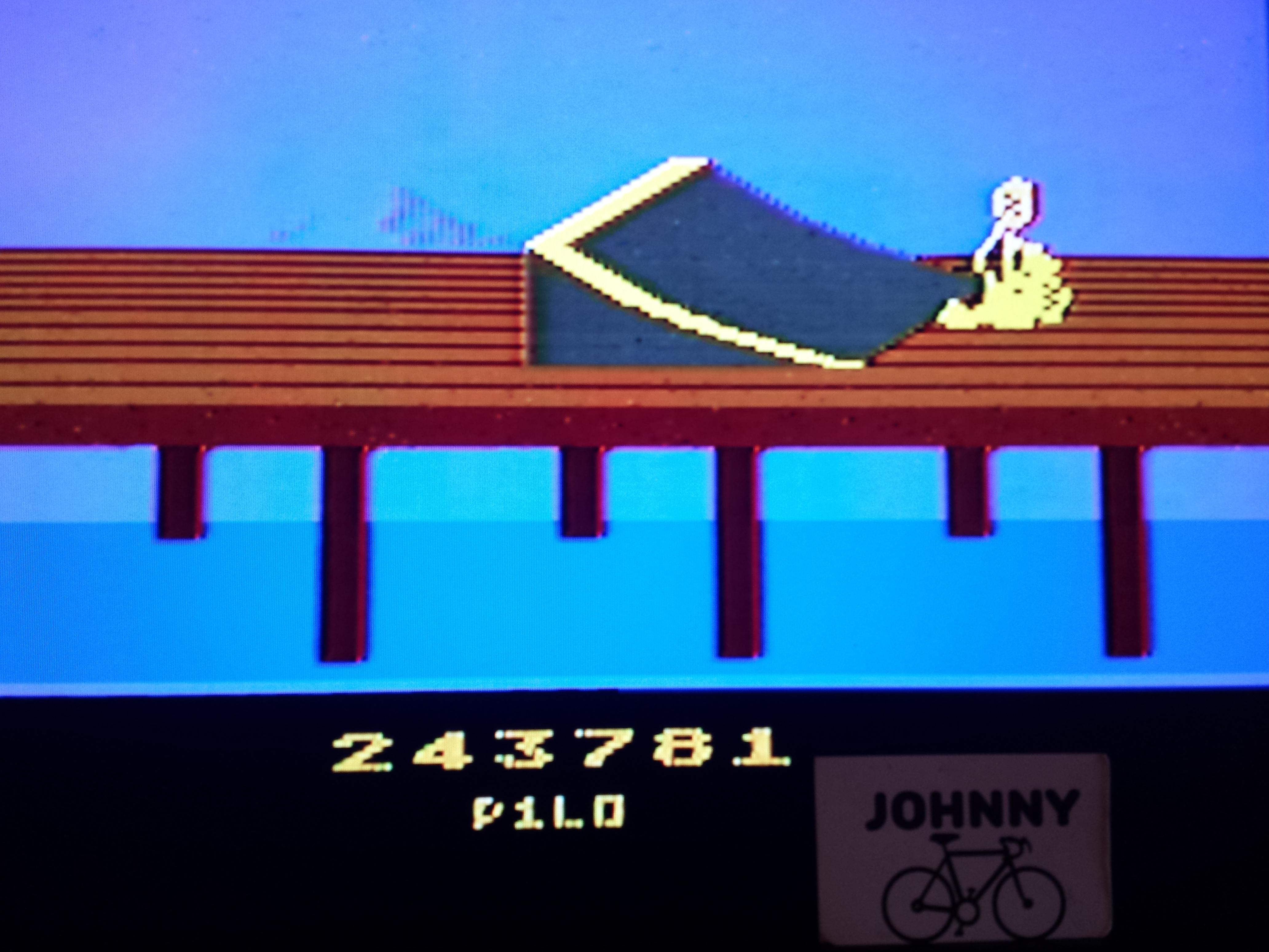 JohnnyTenspeed: BMX Airmaster: Arcade Mode (Atari 2600) 243,781 points on 2016-01-27 10:46:49