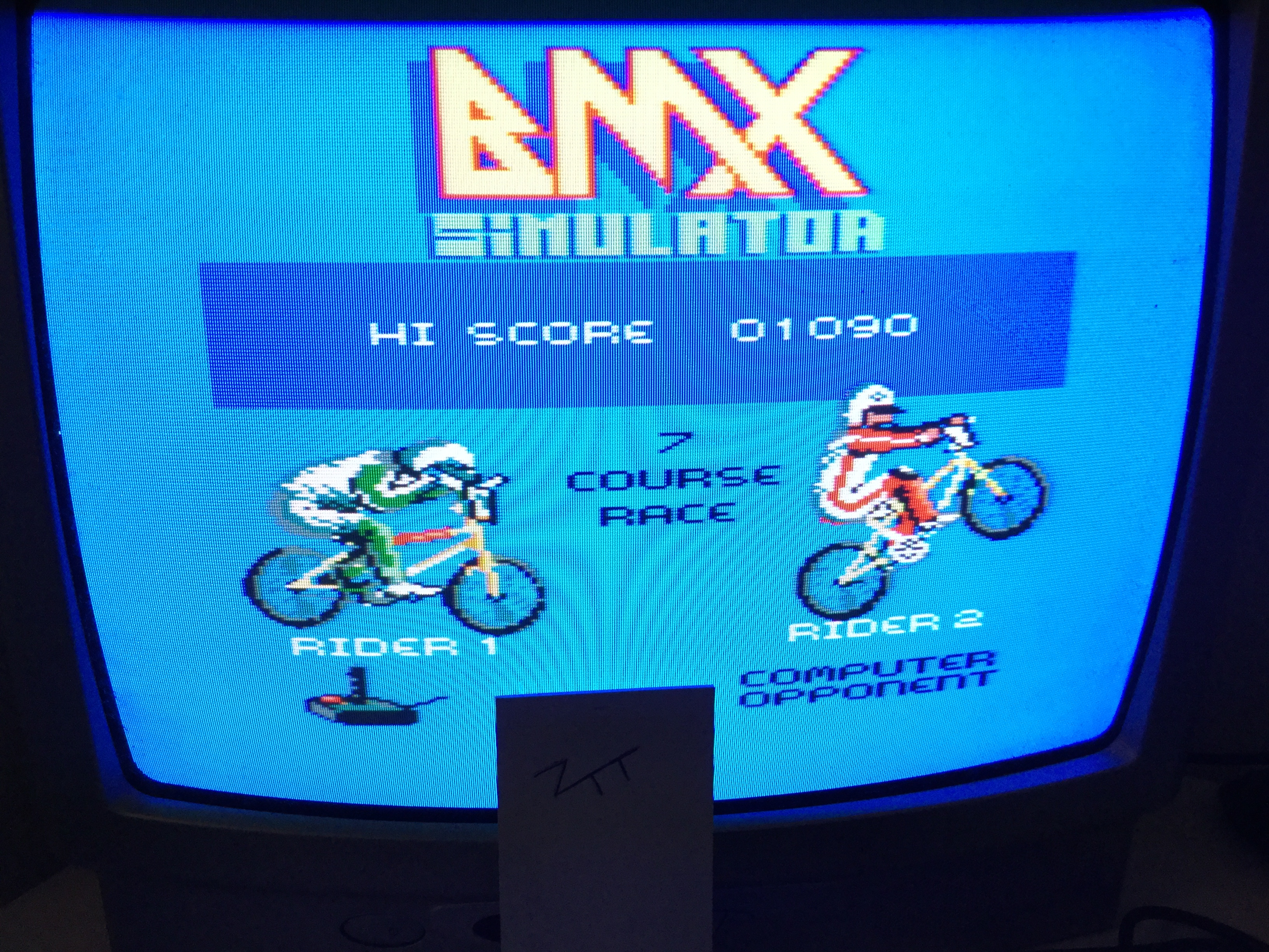 Frankie: BMX Simulator (Amstrad CPC) 1,090 points on 2017-01-22 04:22:35