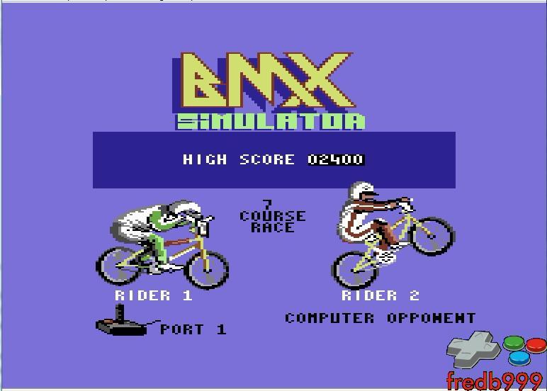 BMX Simulator 2,400 points