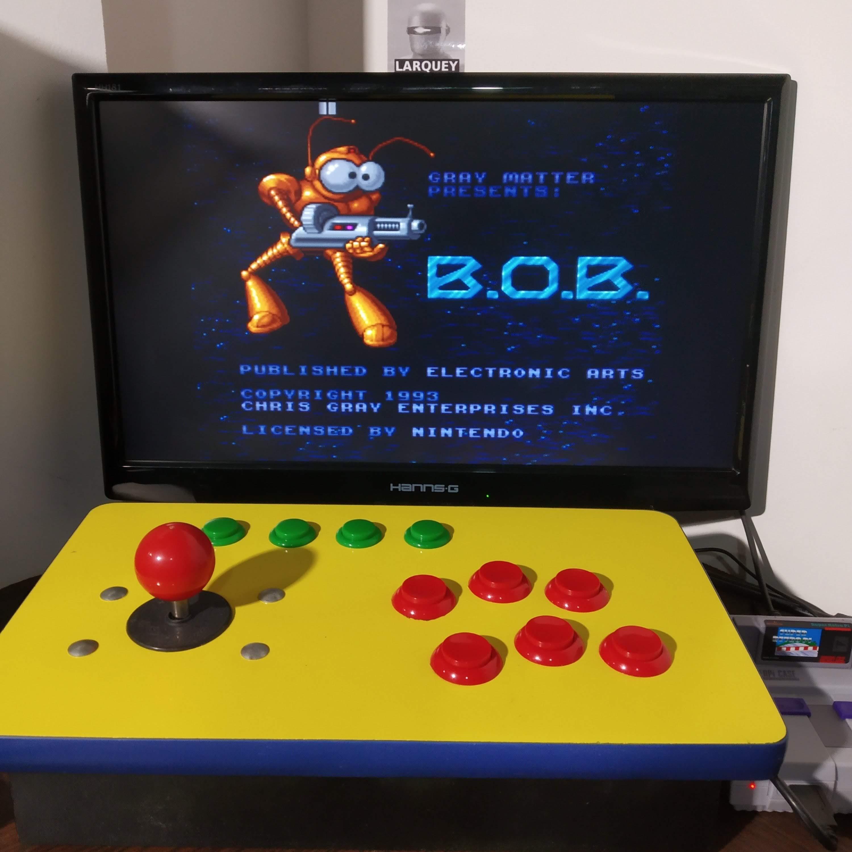 Larquey: B.O.B. (SNES/Super Famicom Emulated) 29,800 points on 2020-08-17 11:52:42