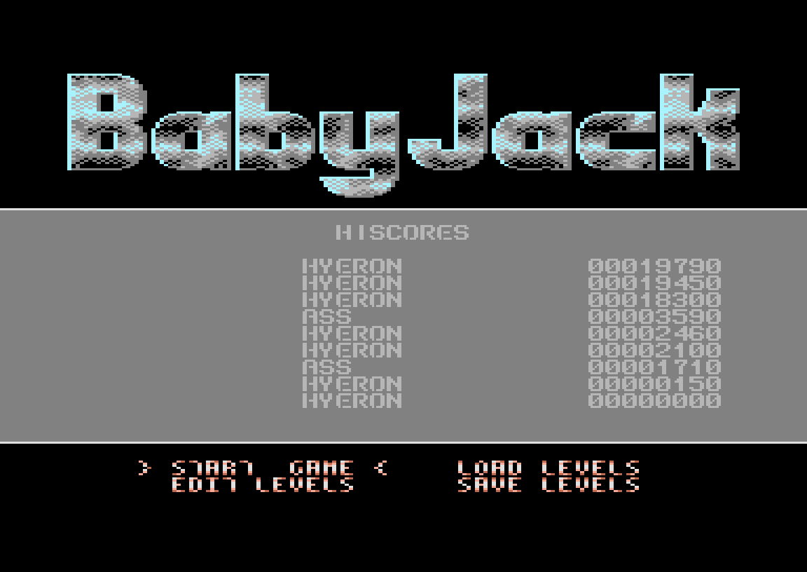 Baby Jack 2 19,790 points