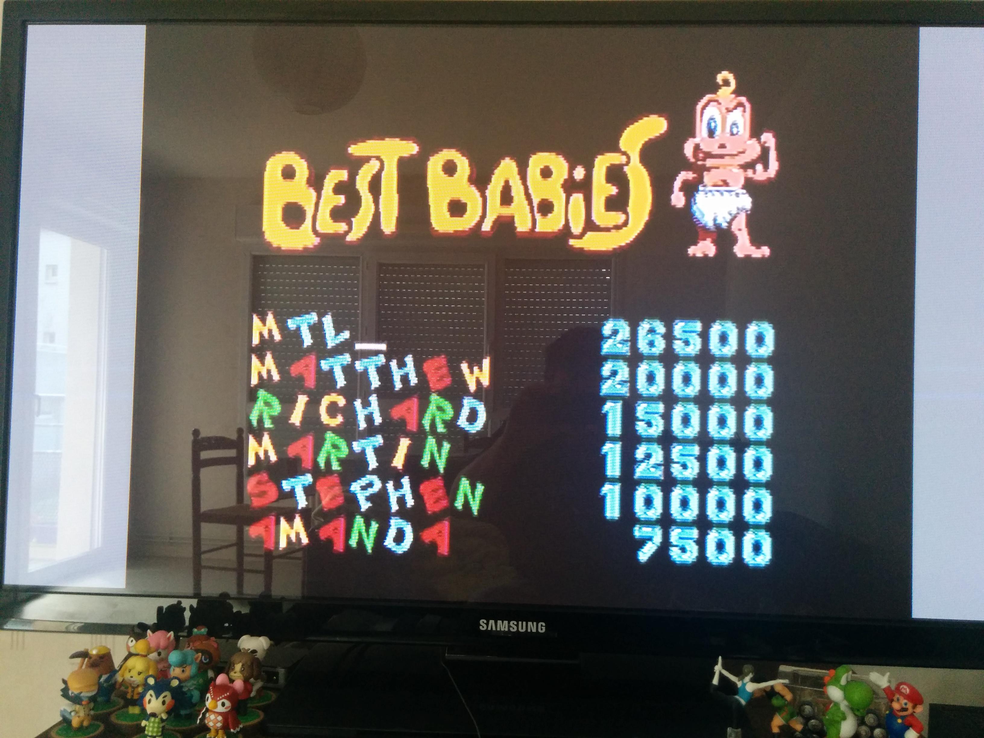 Mantalow: Baby Jo the Superhero (TurboGrafx-16/PC Engine) 26,500 points on 2016-02-08 08:17:30