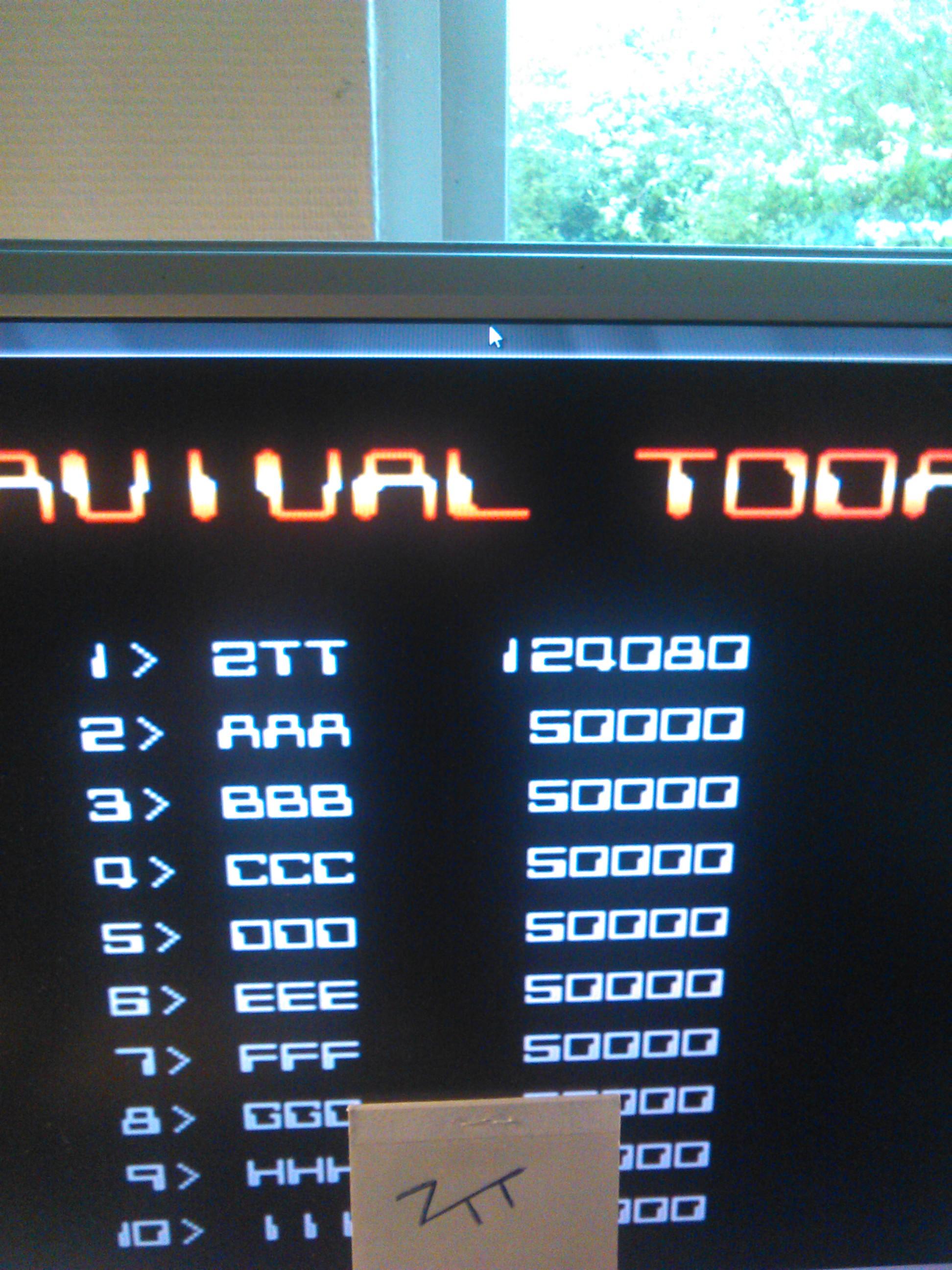 Back Fire [backfirt] 124,080 points