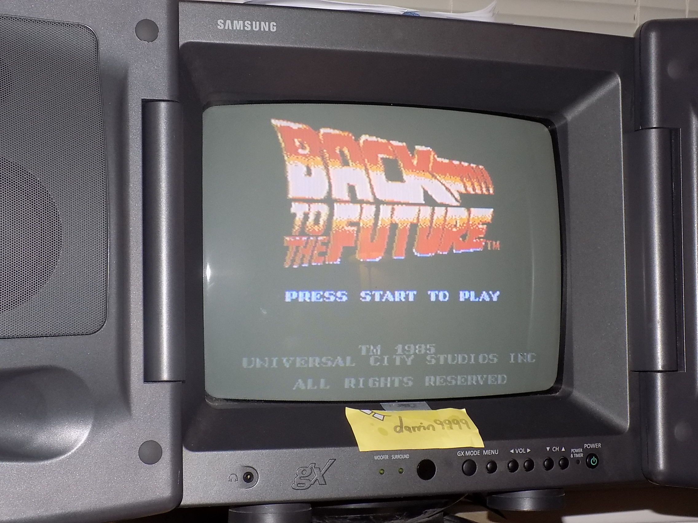 darrin9999: Back To The Future (NES/Famicom) 12,920 points on 2018-01-22 22:50:56