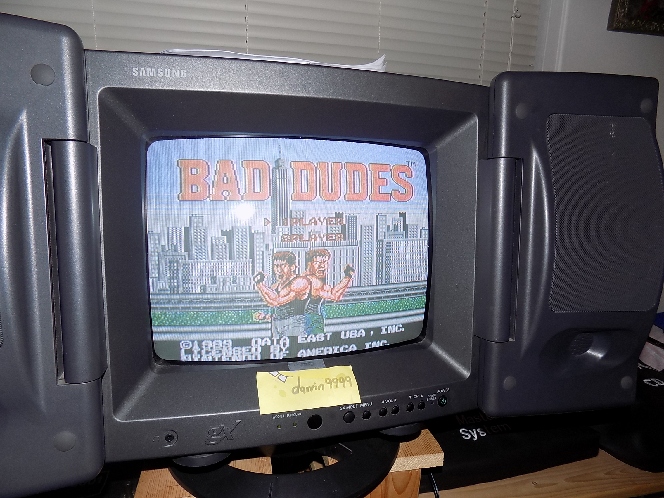 darrin9999: Bad Dudes (NES/Famicom) 4,400 points on 2018-01-22 23:17:23