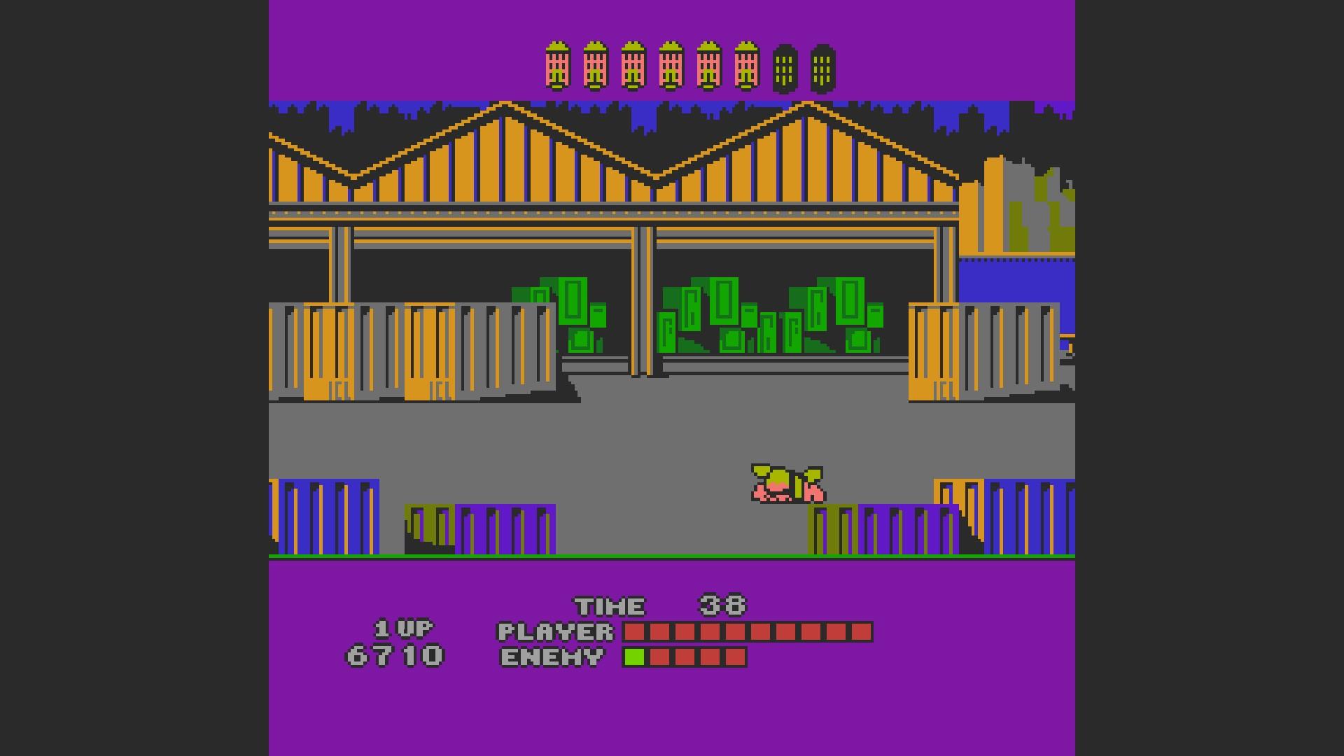 AkinNahtanoj: Bad Street Brawler (NES/Famicom Emulated) 6,710 points on 2020-10-23 03:29:40