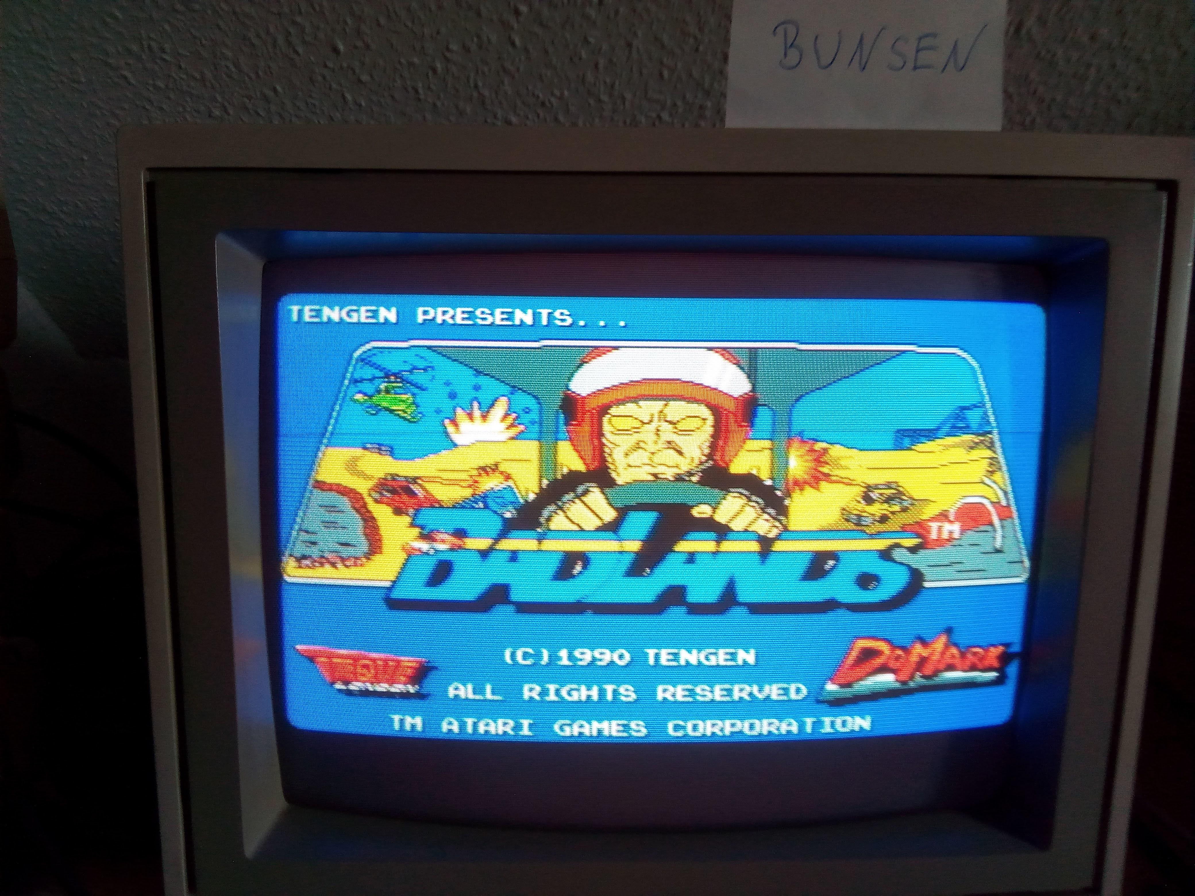 Bunsen: Badlands (Amiga) 8,320 points on 2021-05-29 03:48:16