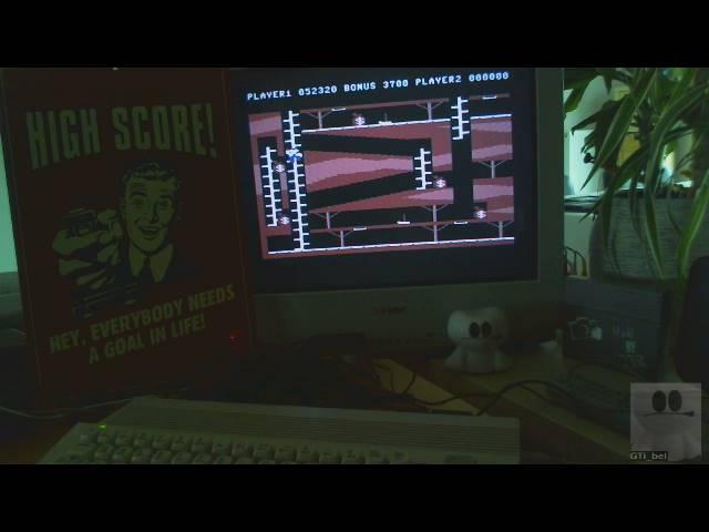 GTibel: Bagitman (Commodore 64) 52,320 points on 2019-02-22 07:10:47