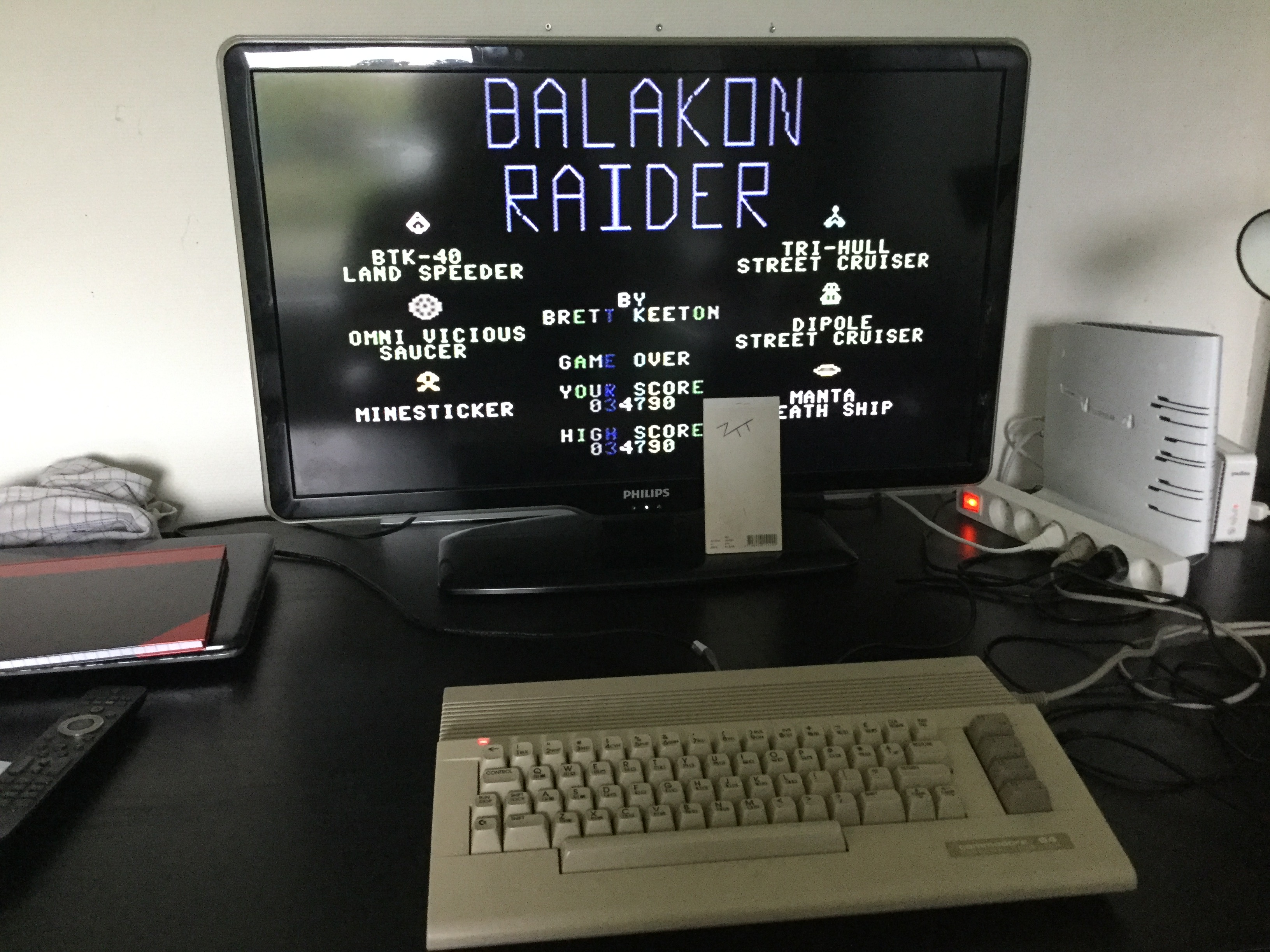 Frankie: Balakon Raider (Commodore 64) 34,790 points on 2019-06-08 11:43:31