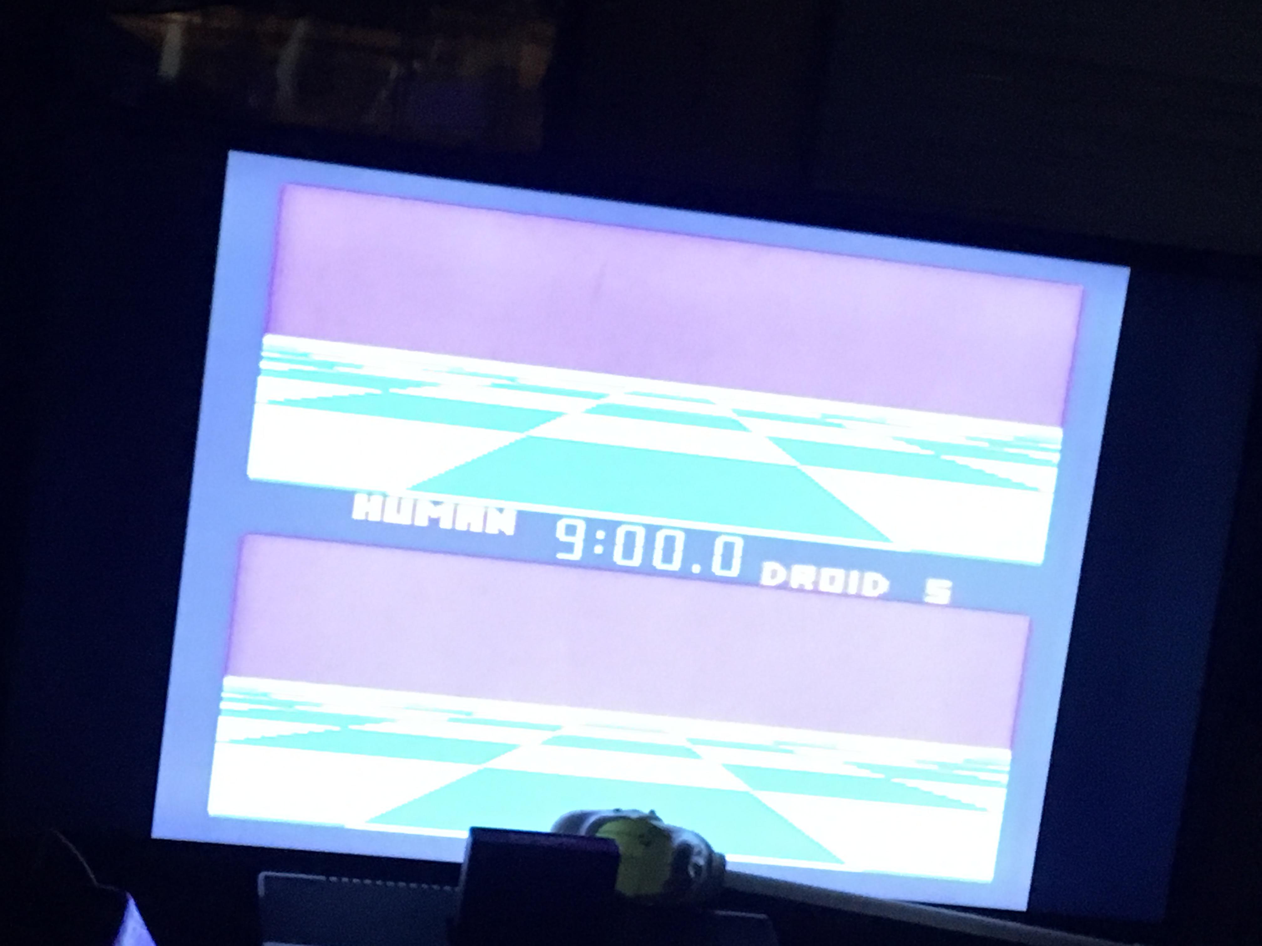 Ballblazer: Droid 5 / 9 minutes 10 points