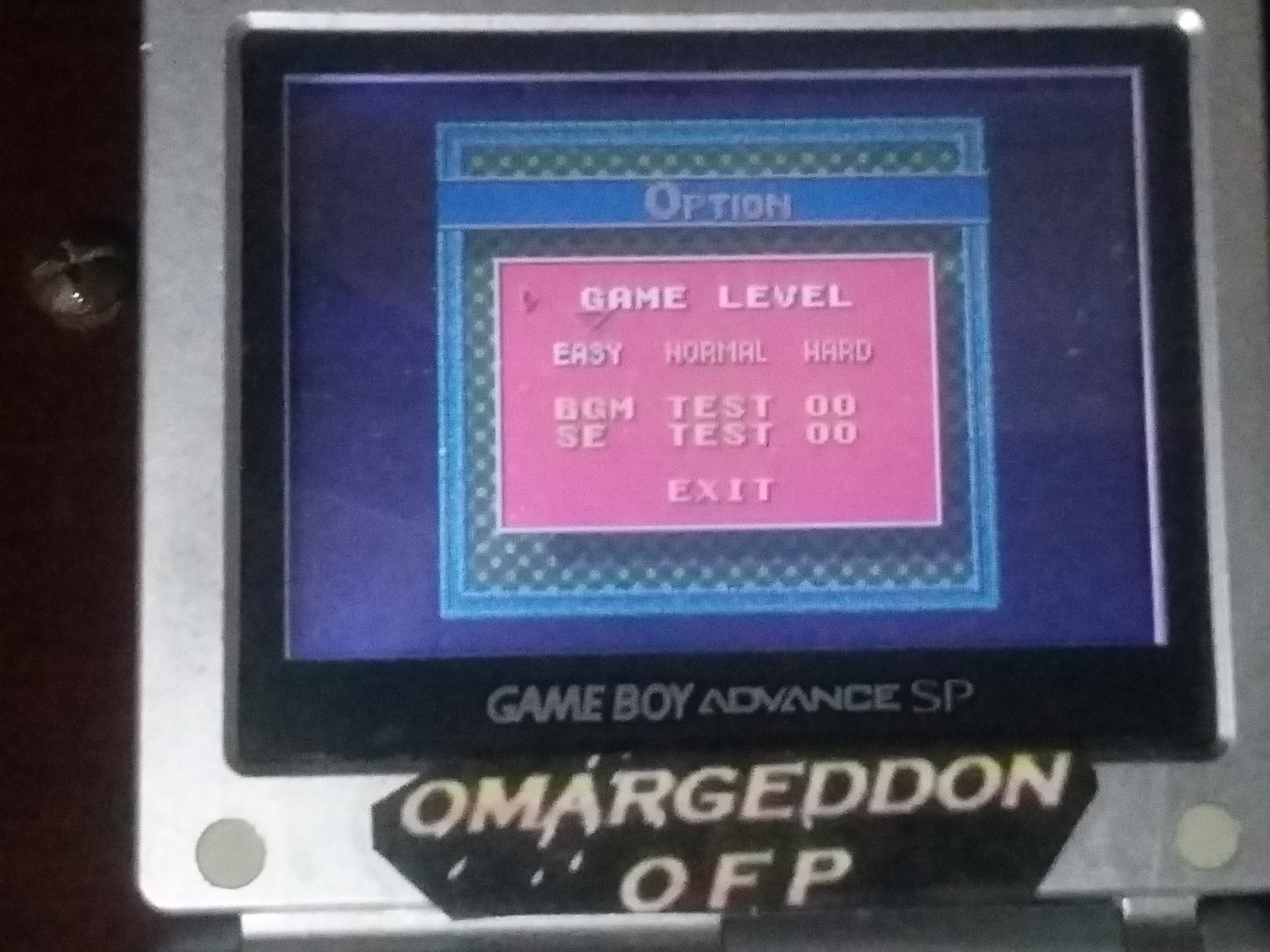 omargeddon: Ballistic [Easy] (Game Boy Color) 71,900 points on 2018-01-19 18:36:05
